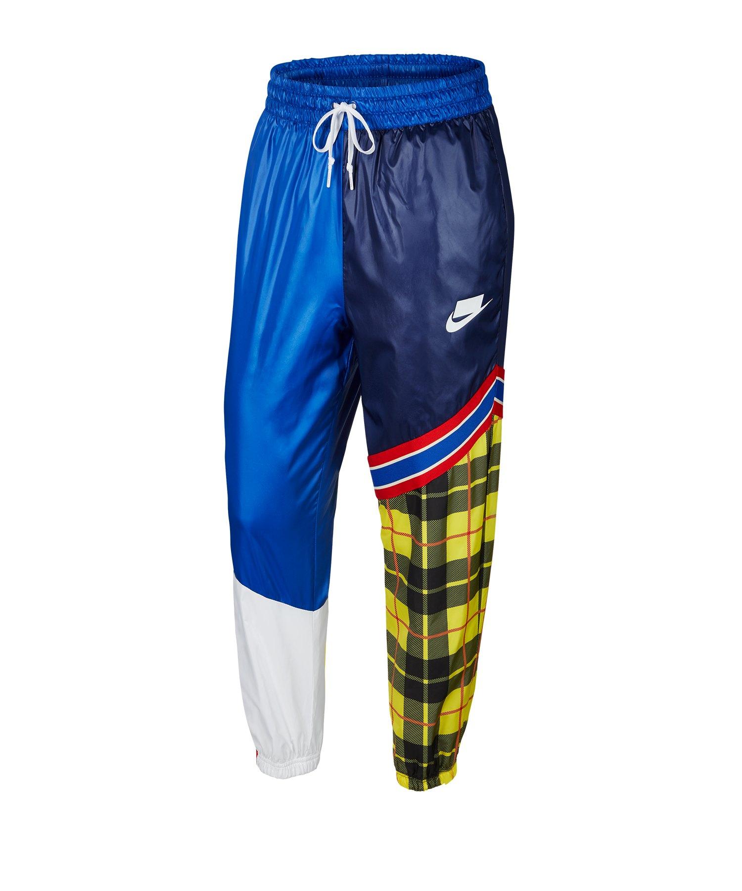 Nike Woven Mashed-Up Pant Hose Damen Blau F492 - blau