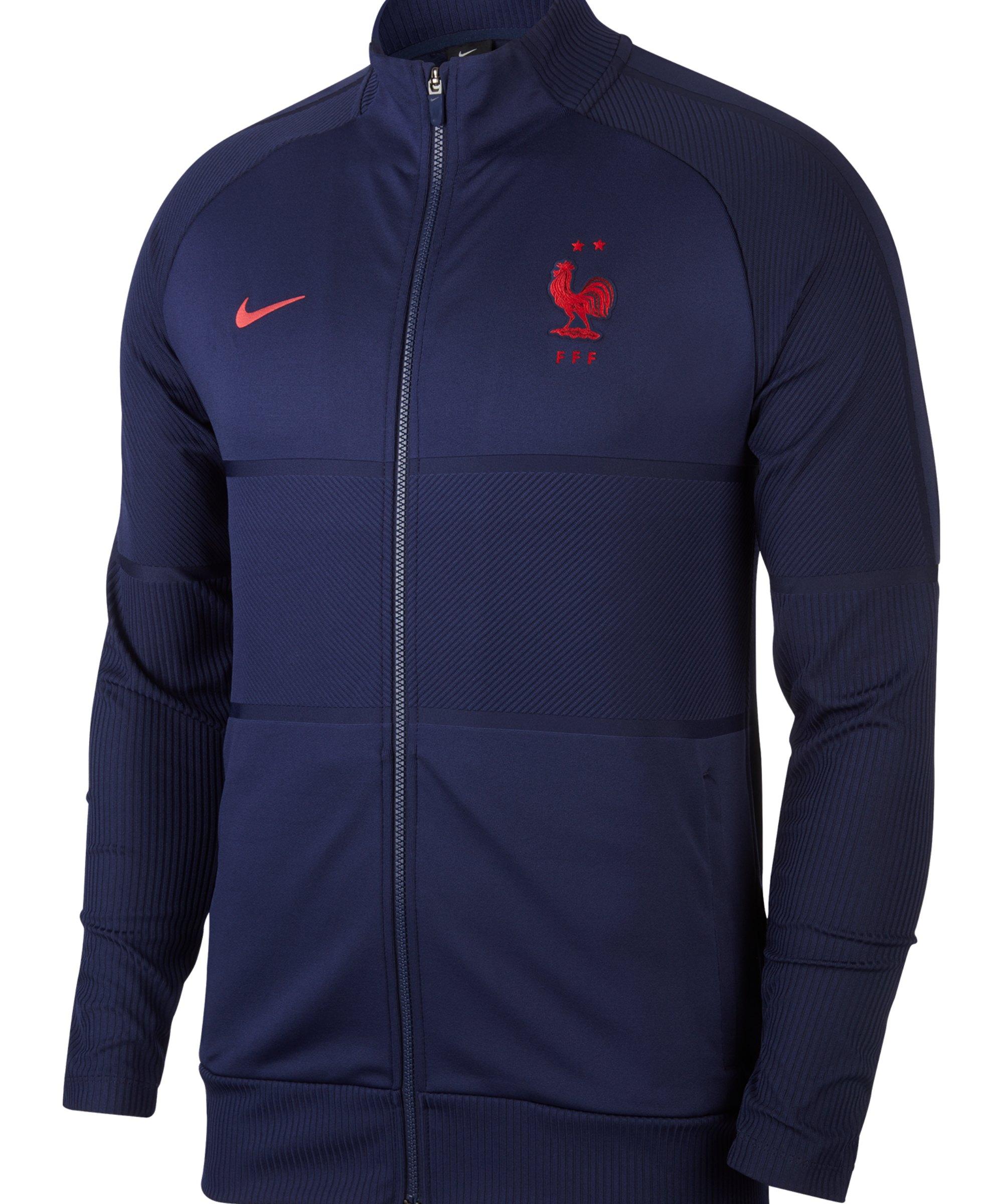 Nike Frankreich I96 Trainingsjacke Blau F498 - blau