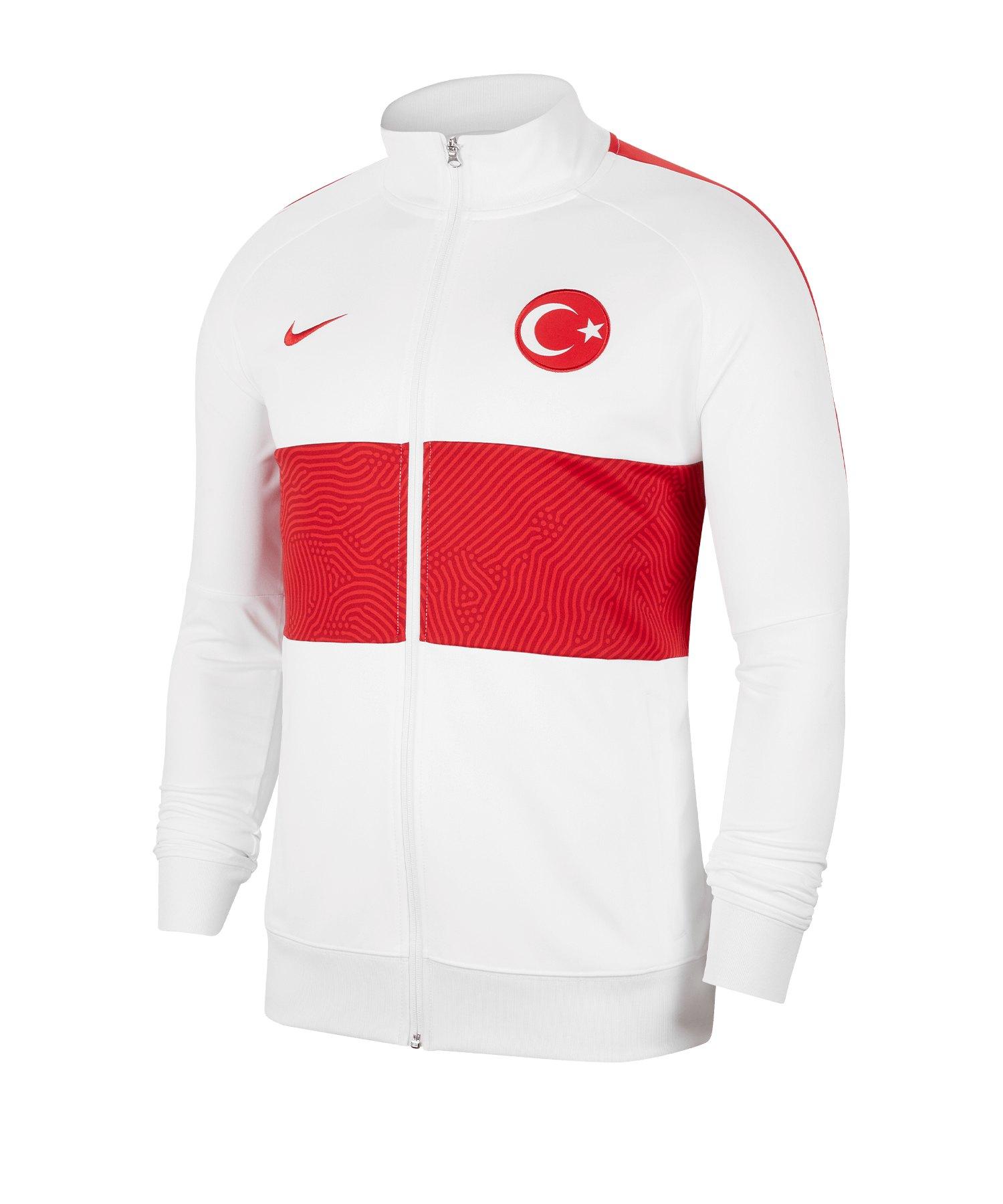 Nike Türkei I96 Trainingsjacke Weiss F100 - weiss