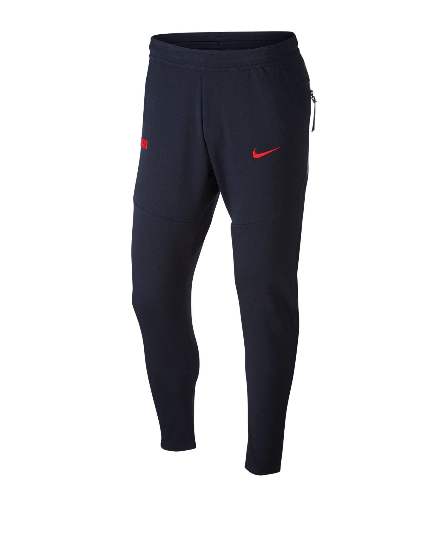Nike Frankreich Tech Pack Jogginghose Grau F475 - blau