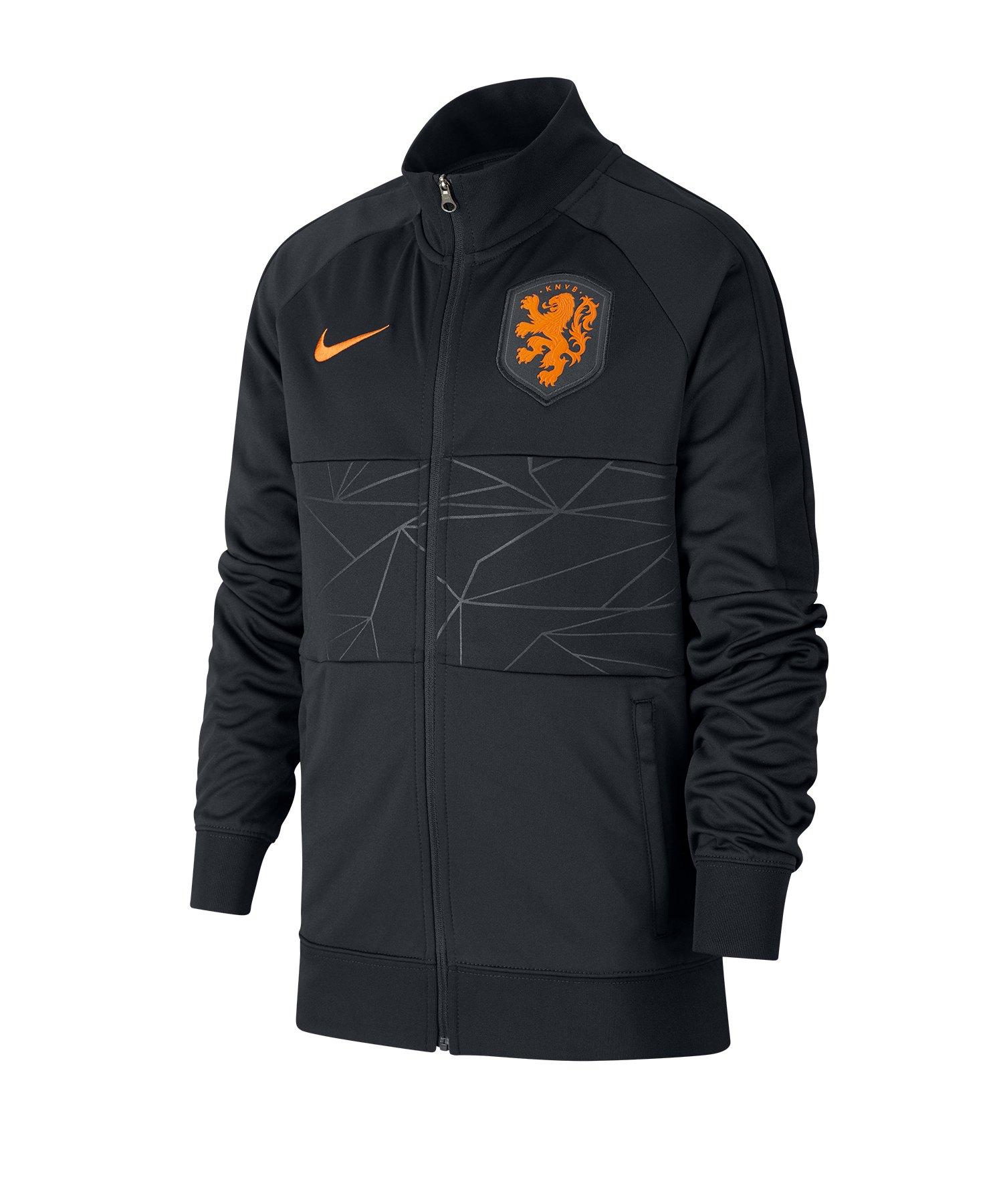 Nike Niederlande I96 Trainingsjacke Kids F010 - schwarz