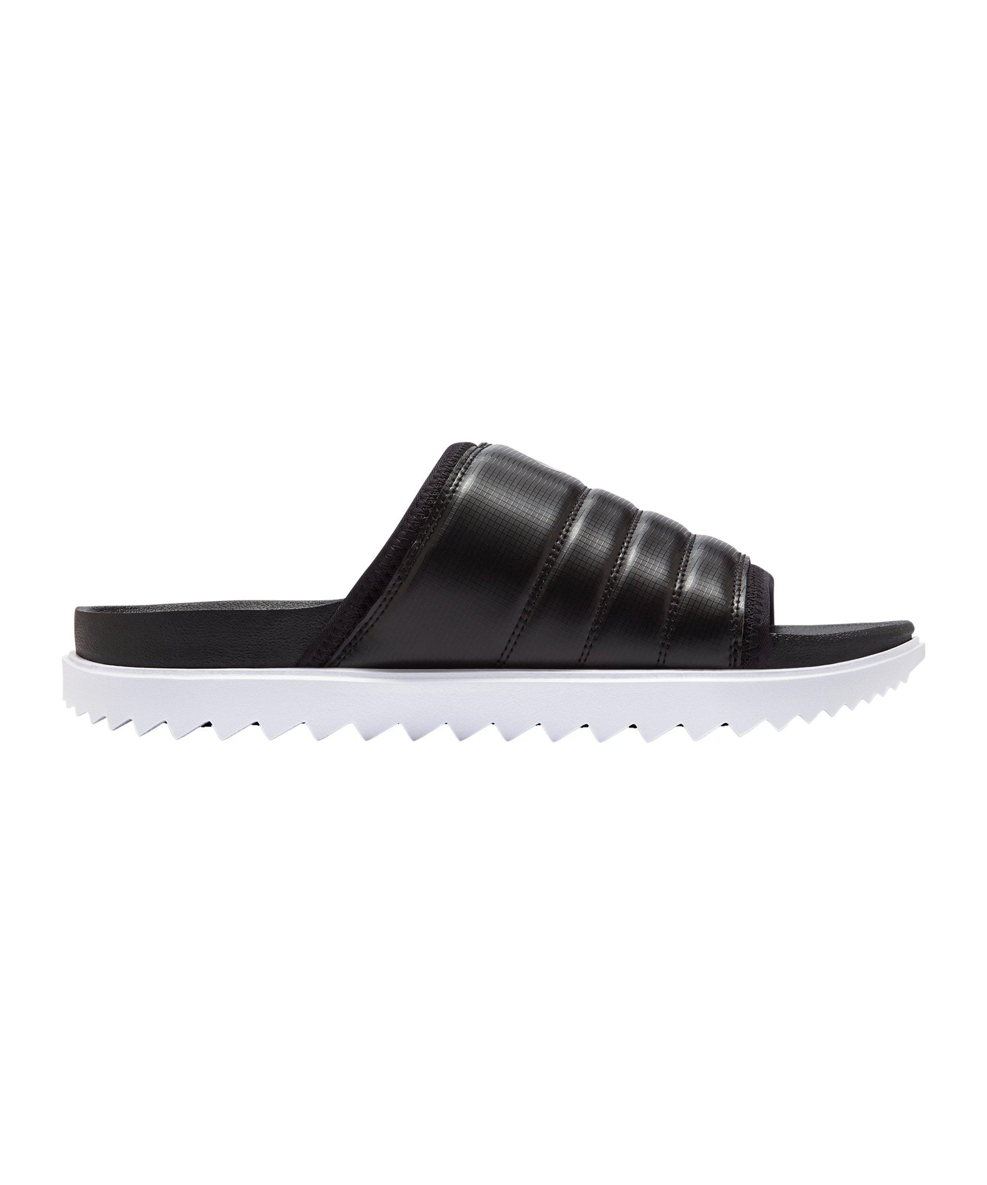 Nike Asuna Slide Badelatsche Schwarz F002 - schwarz