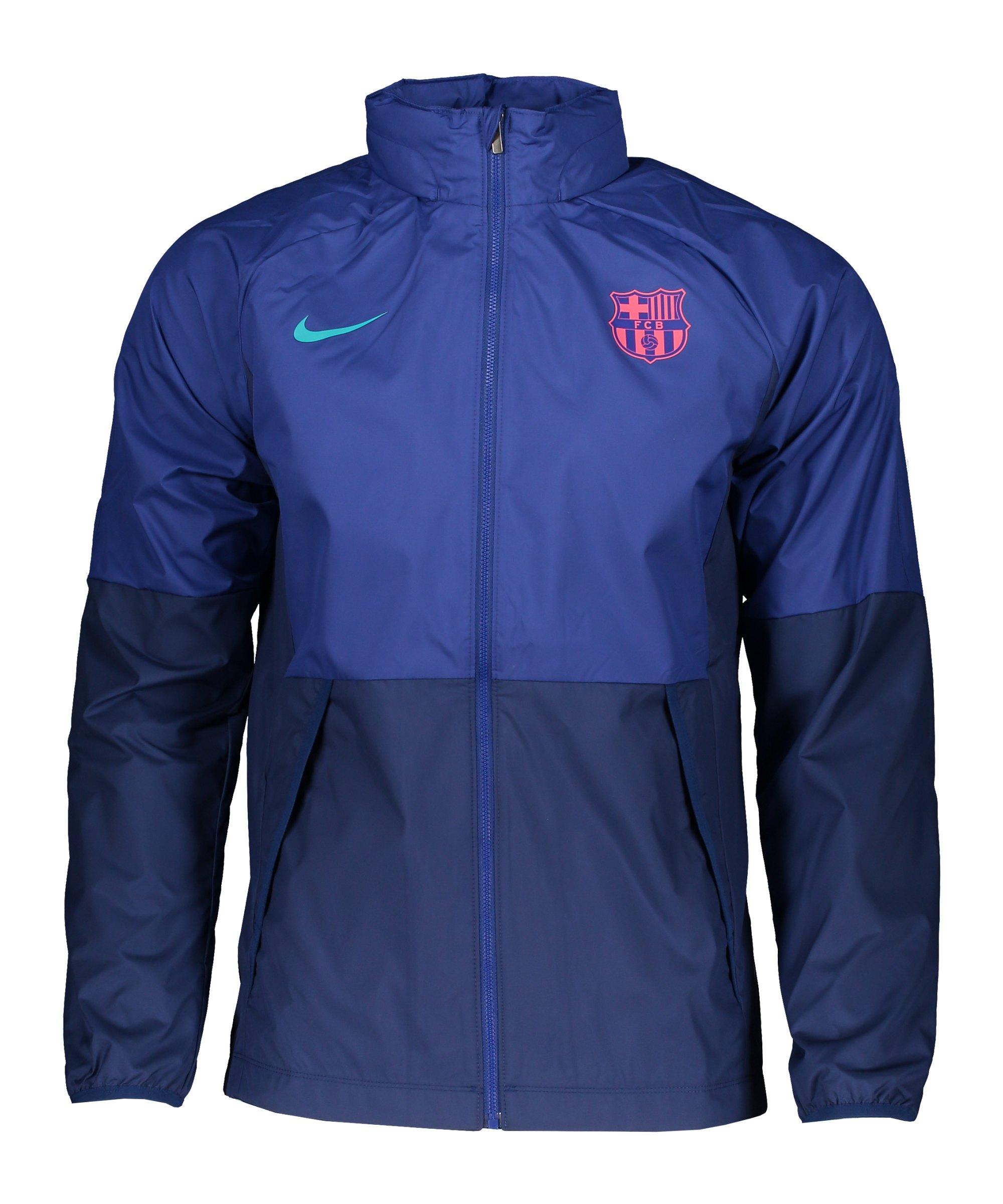 Nike FC Barcelona Jacke Blau F457 - blau