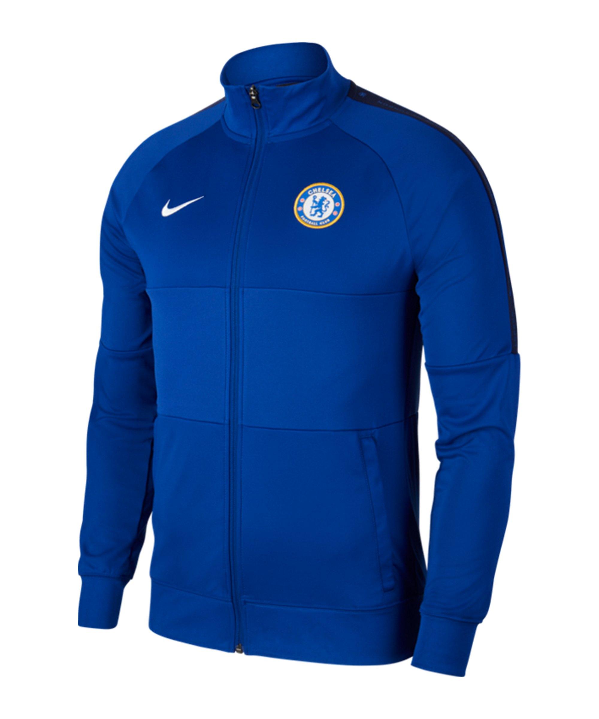 Nike FC Chelsea London I96 Trainingsjacke F495 - blau