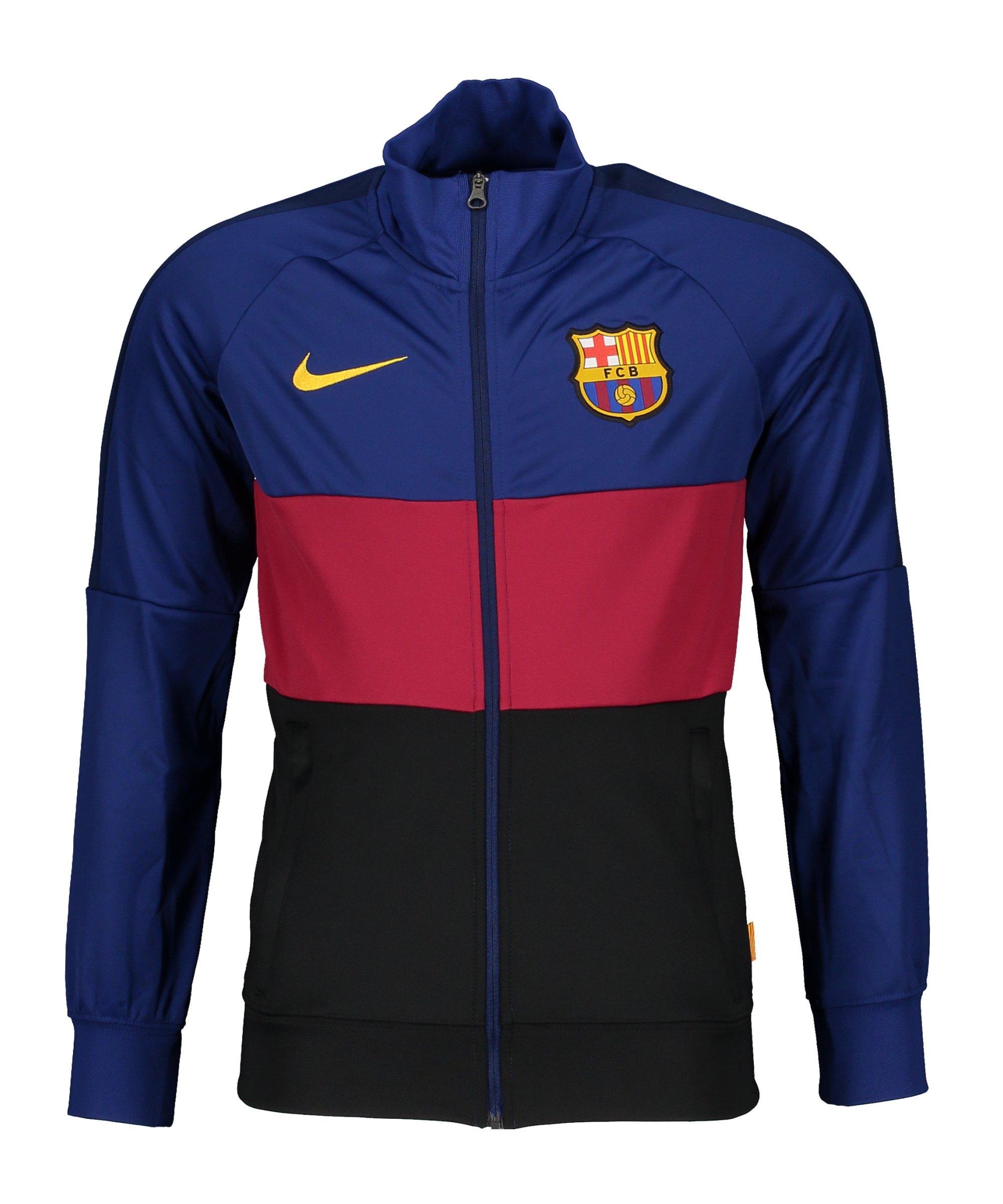 Nike FC Barcelona I96 Trainingsjacke Blau F455 - blau
