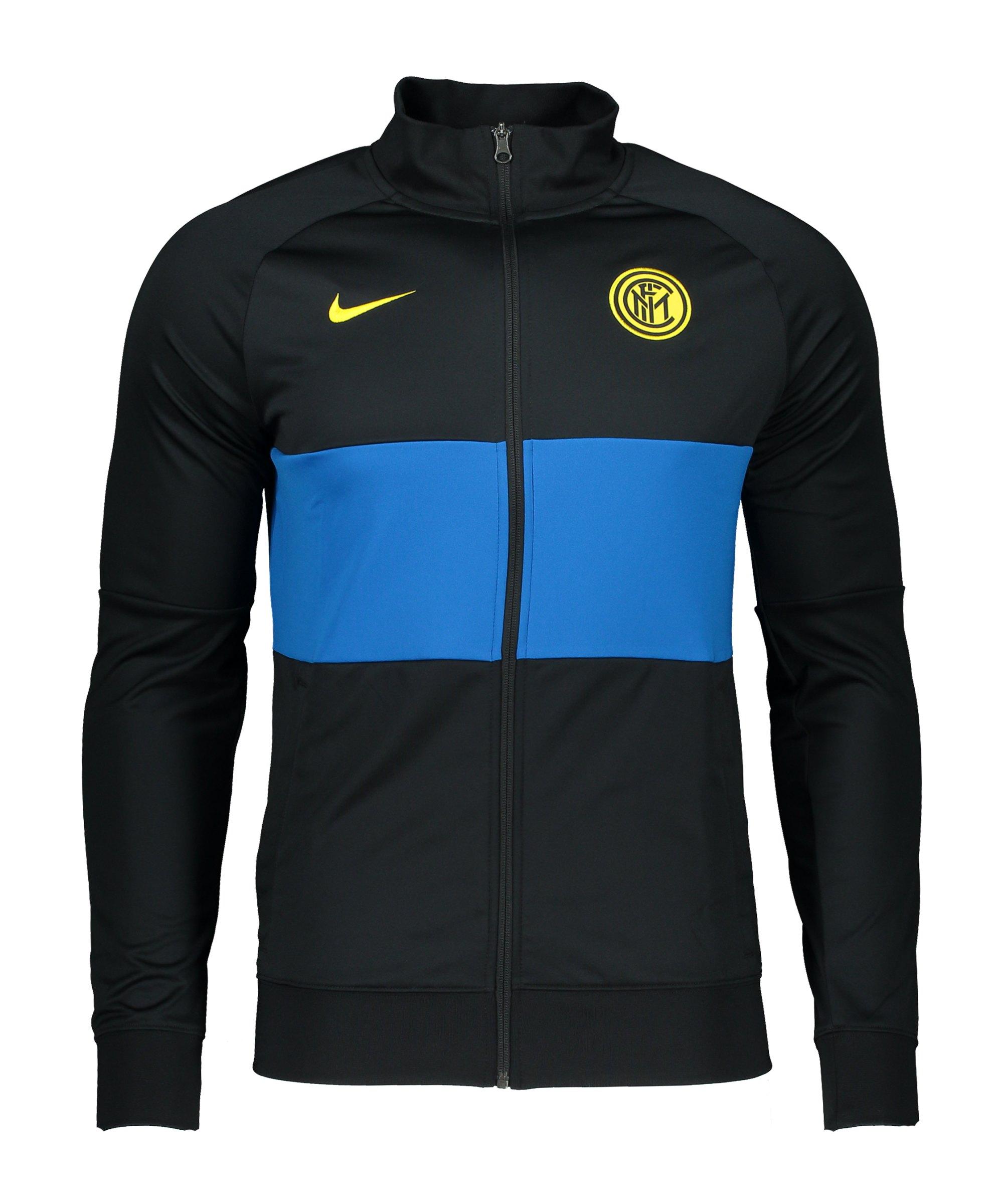 Nike Inter Mailand I96 Trainingsjacke Schwarz F011 - schwarz