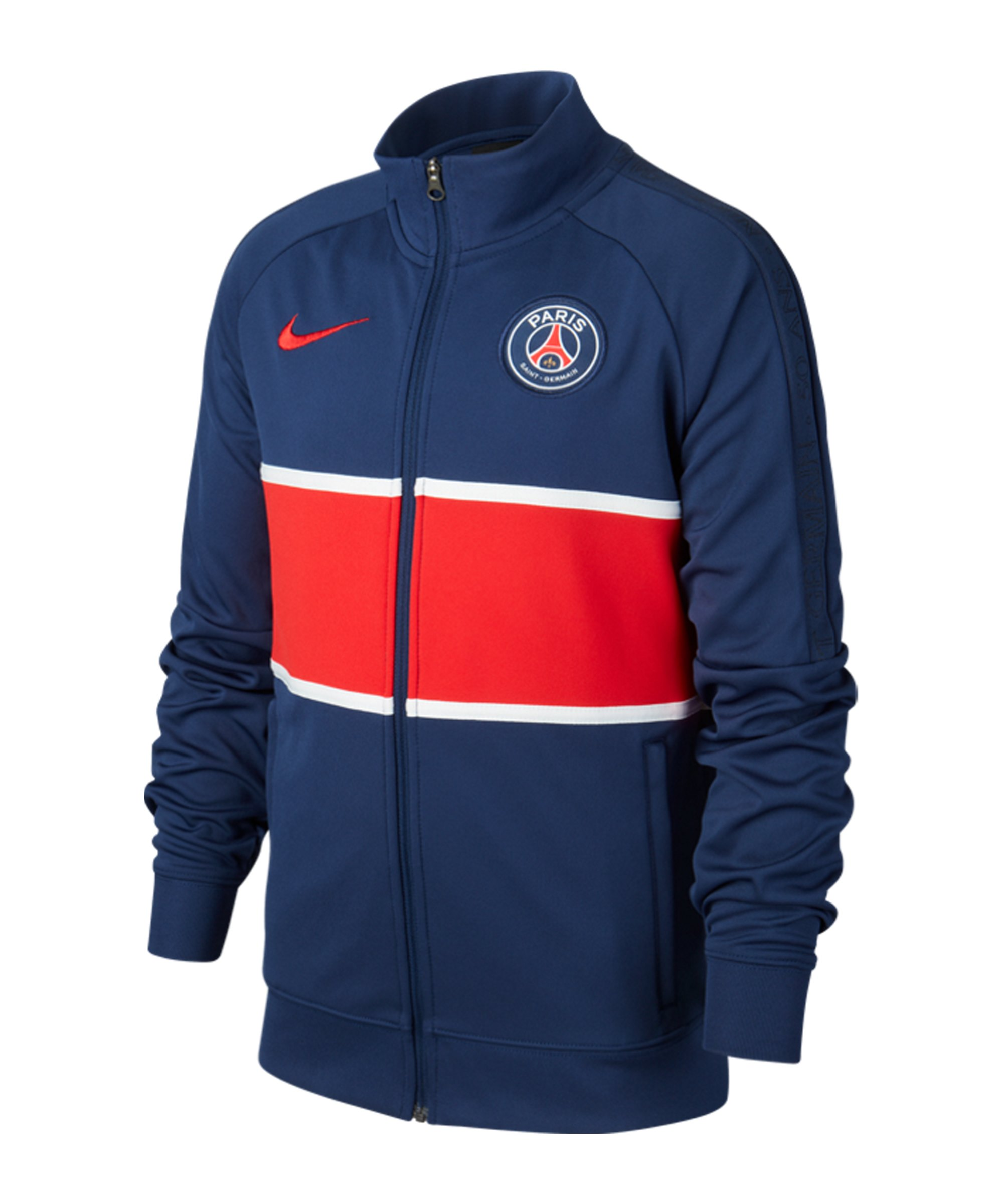Nike Paris St. Germain I96 Trainingsjacke Kids F410 - blau