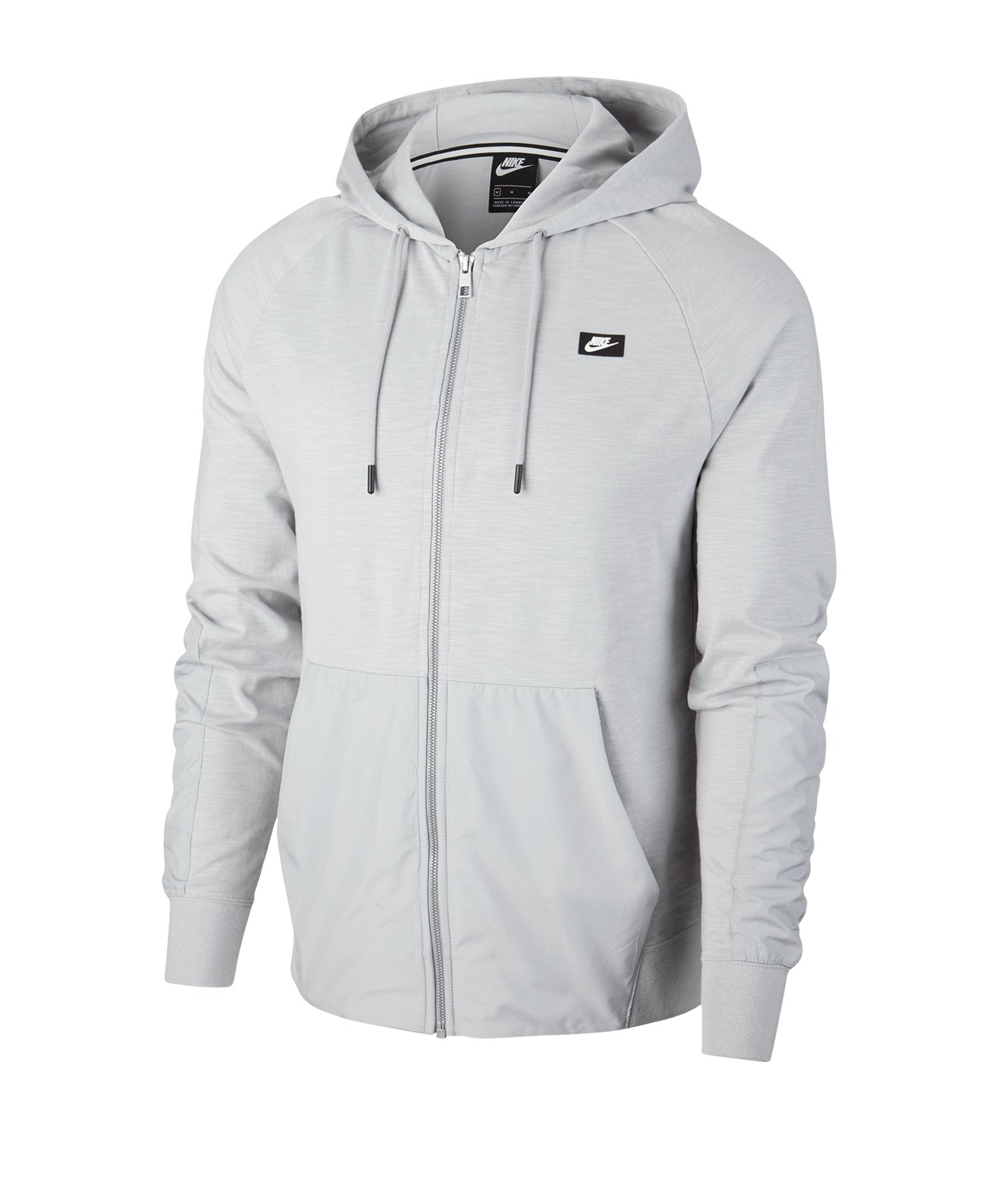Nike Mix Kapuzenjacke Grau F077 - grau