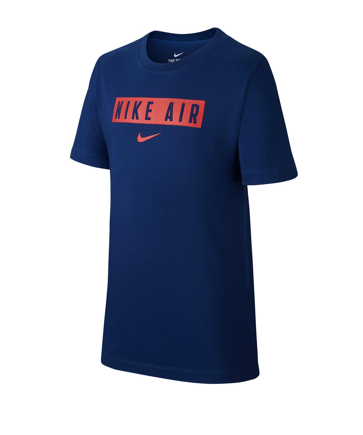 Nike Casual Tee T-Shirt kurzarm Kids Blau F492 - blau