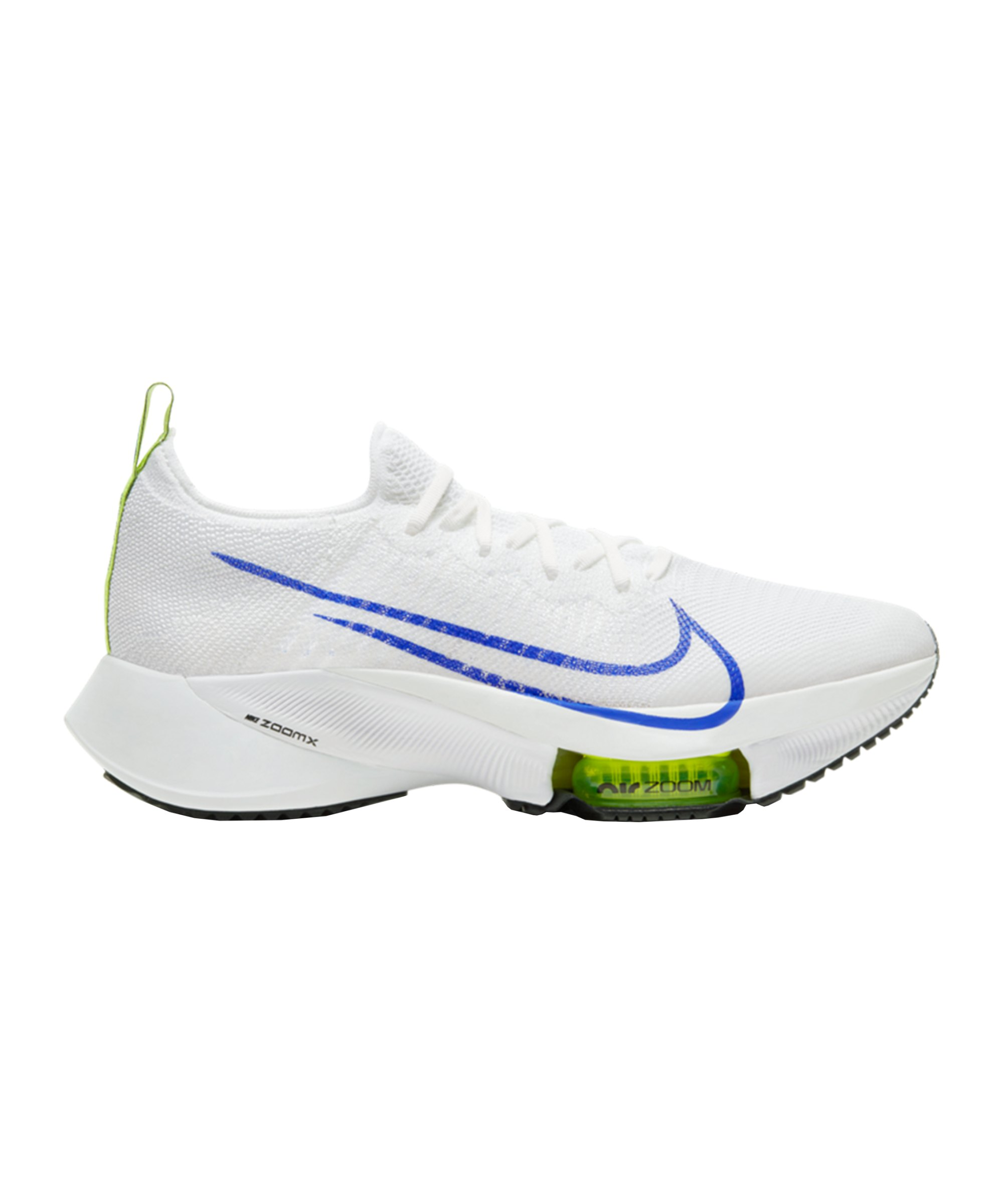 Nike Air Zoom Tempo Next% Flyknit Running F103 - weiss