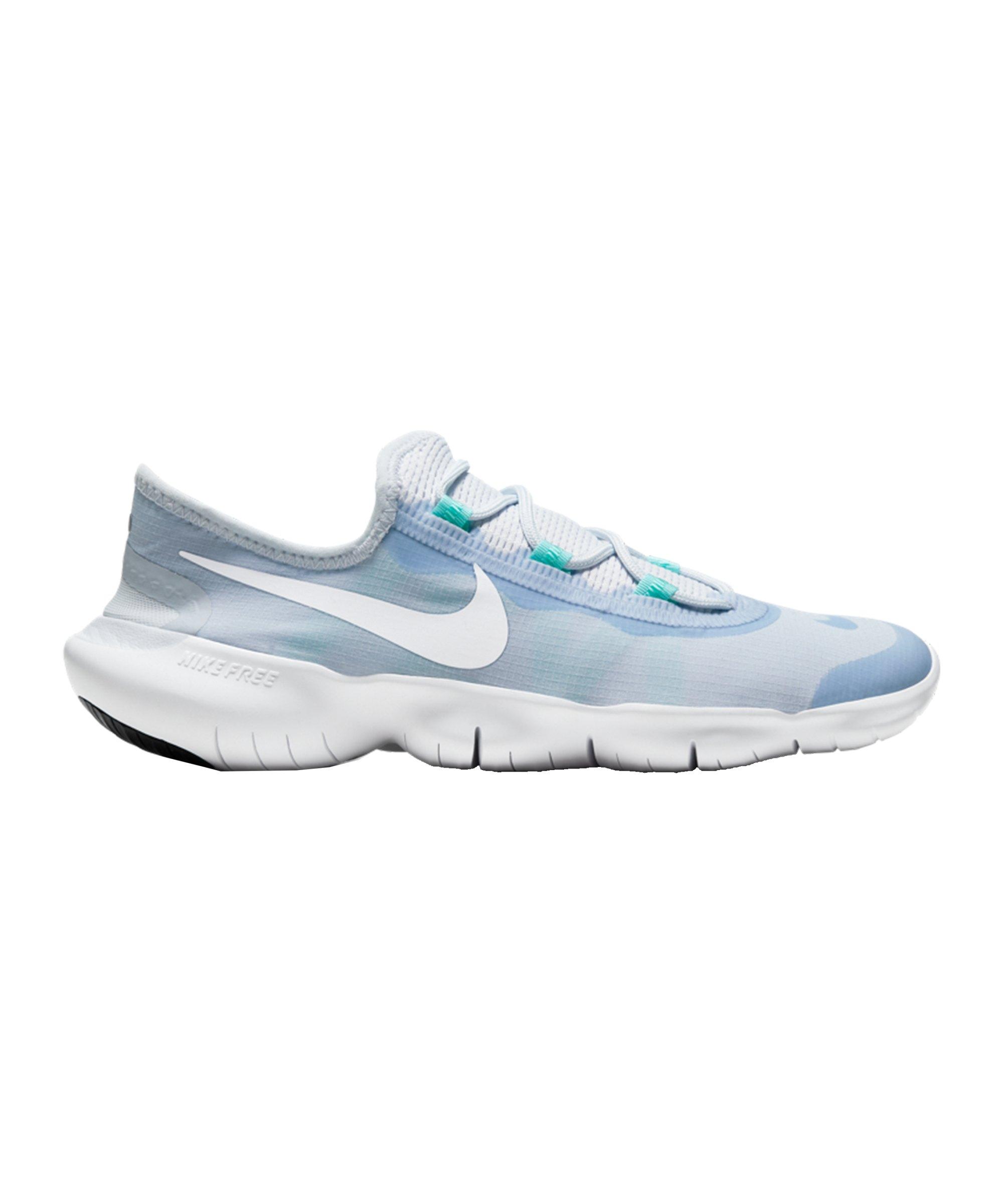 Nike Free Run 5.0 Running Damen Blau F401 - blau