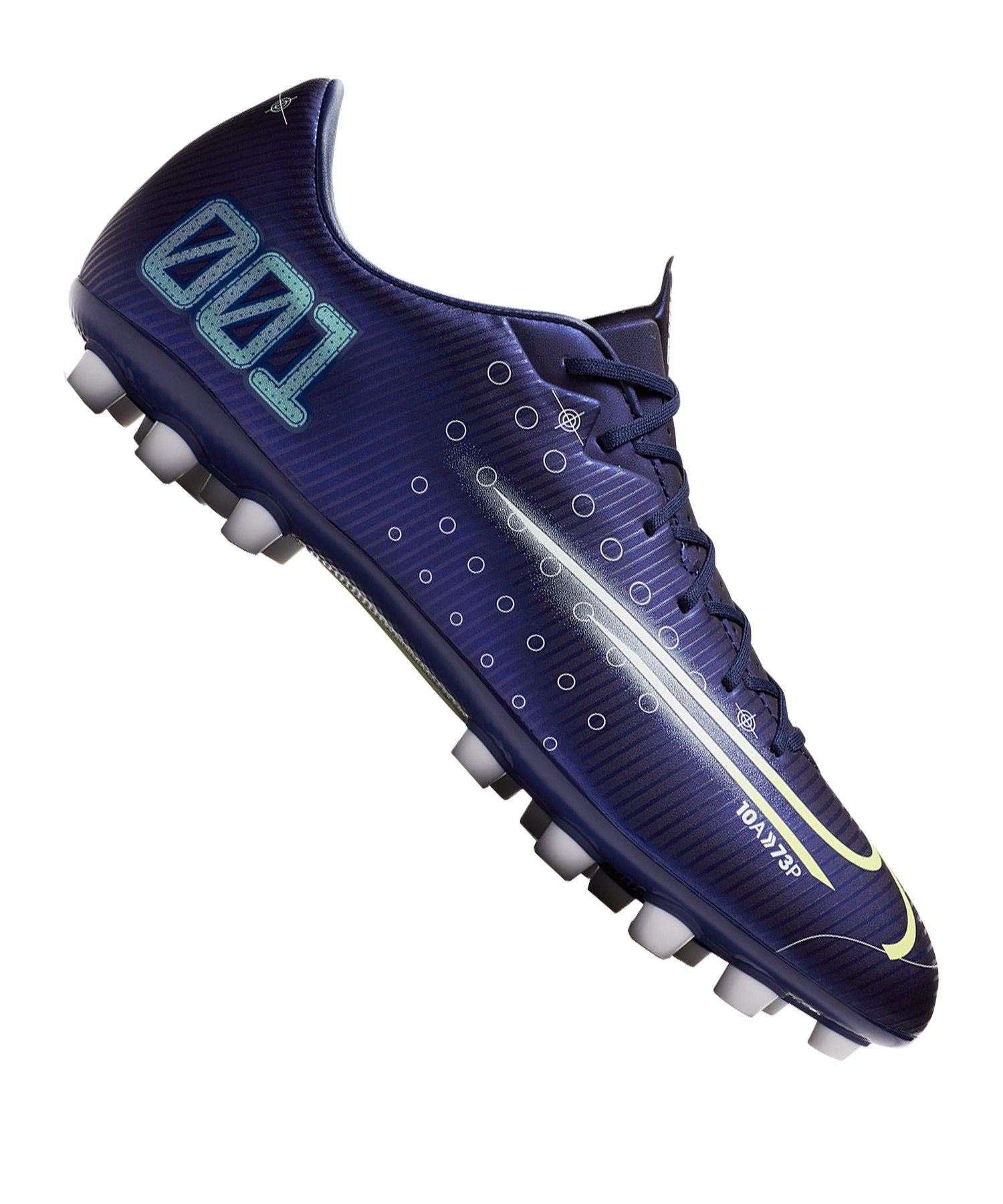 Nike Mercurial Vapor XIII DS Academy AG Blau F401 - blau