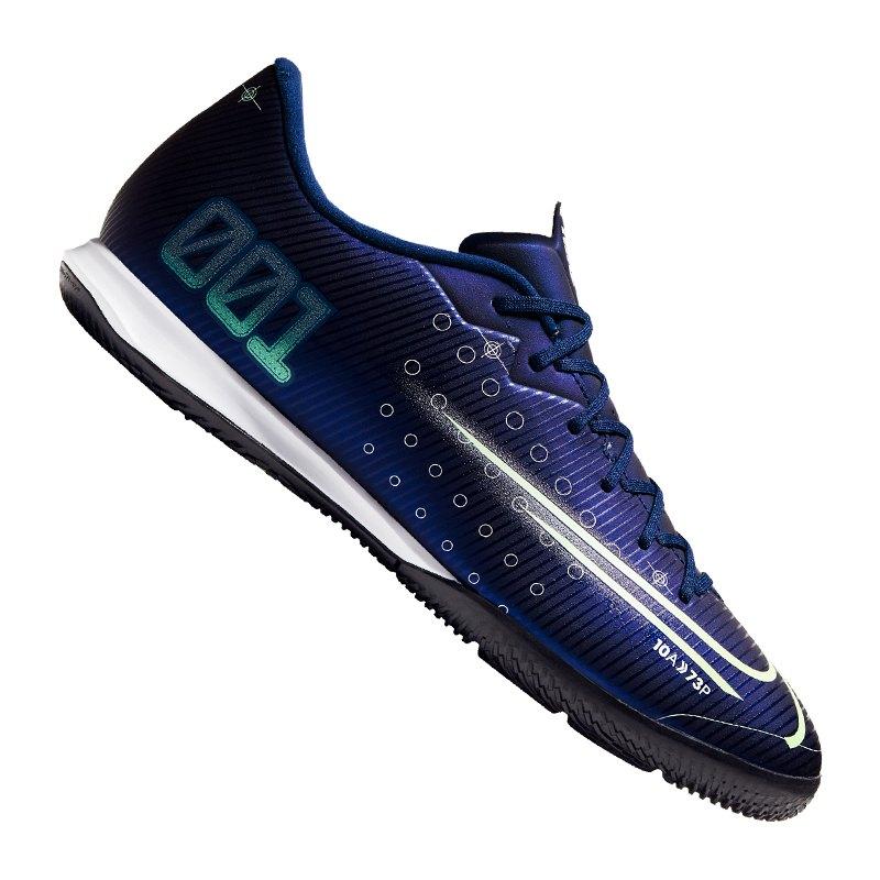 Nike Mercurial Vapor XIII DS Academy IC Blau F401 - blau