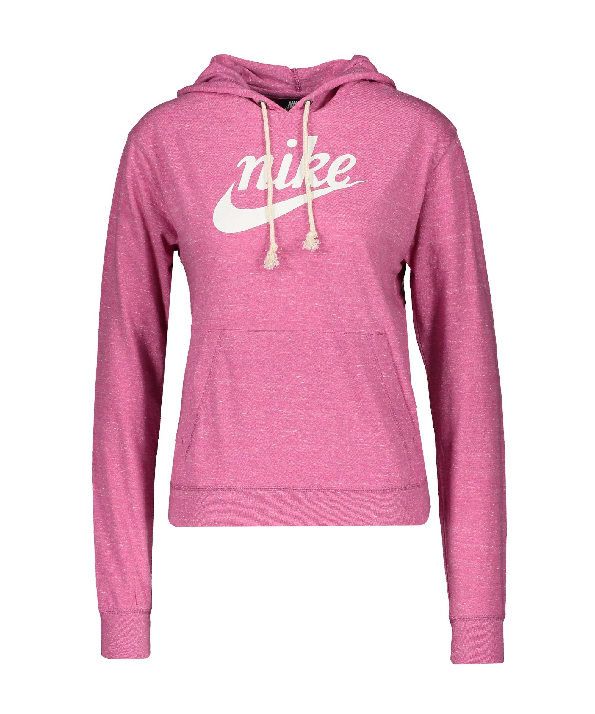 Nike Gym Vintage Hoody Damen Pink F691 - pink