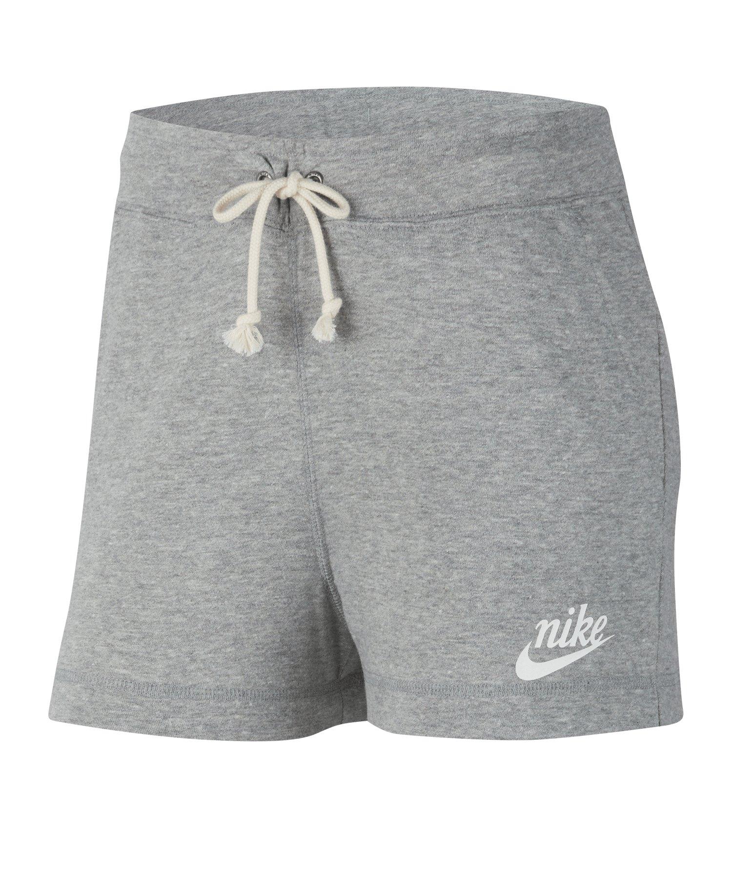 Nike Gym Vintage Short Damen Grau F063 - grau