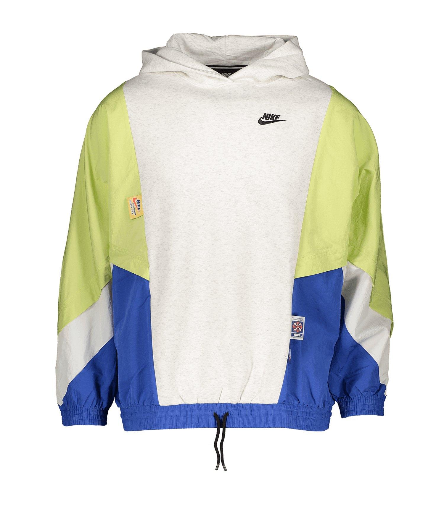 Nike Fleece Hoody Kapuzenpullover Weiss F051 - weiss