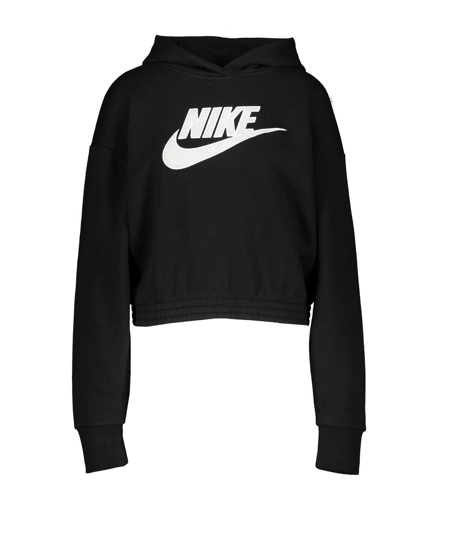 Nike Fleece Hoody Kapuzenpullover Schwarz F010 - schwarz