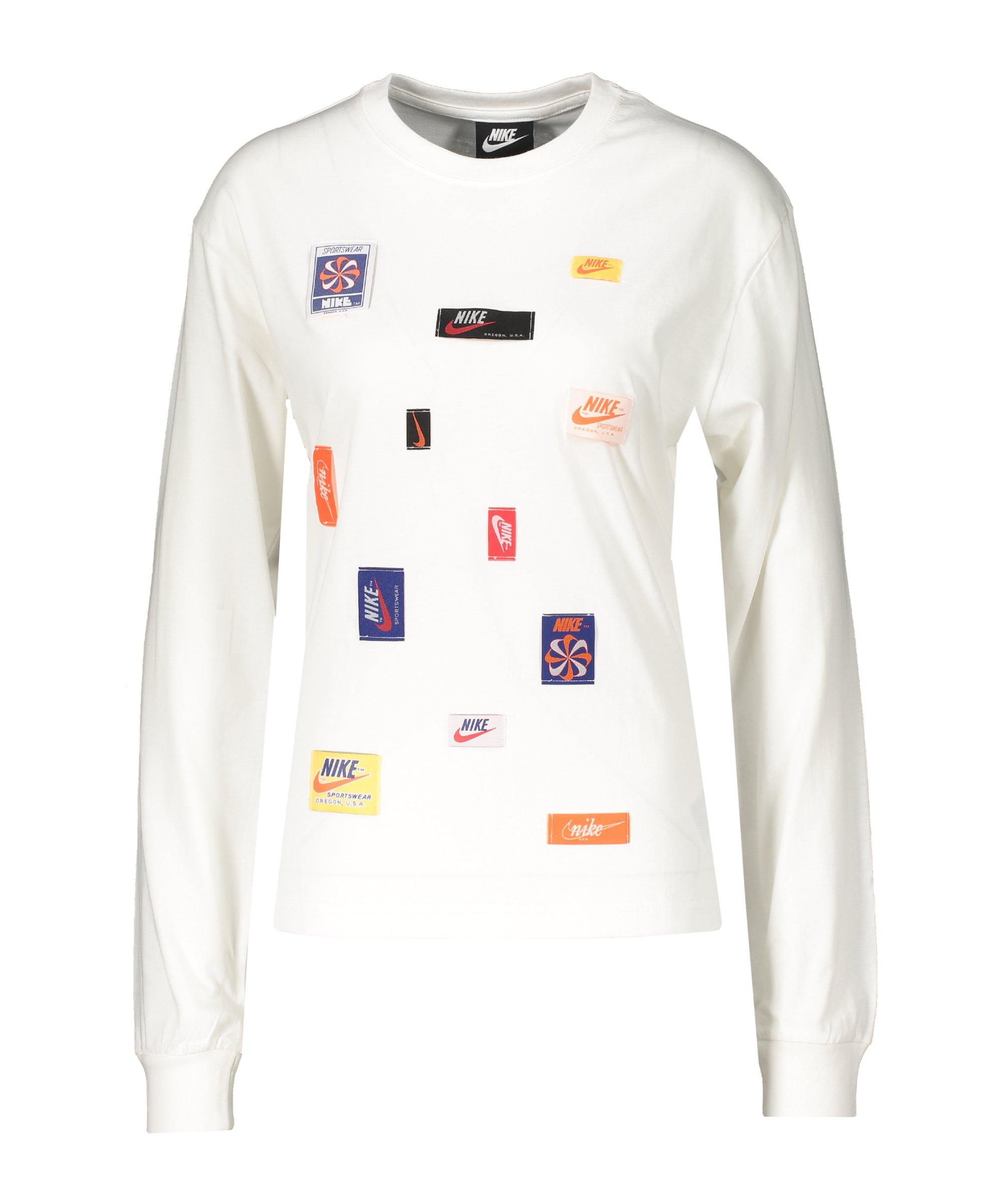 Nike Icon Clash Sweatshirt Damen Weiss F100 - weiss