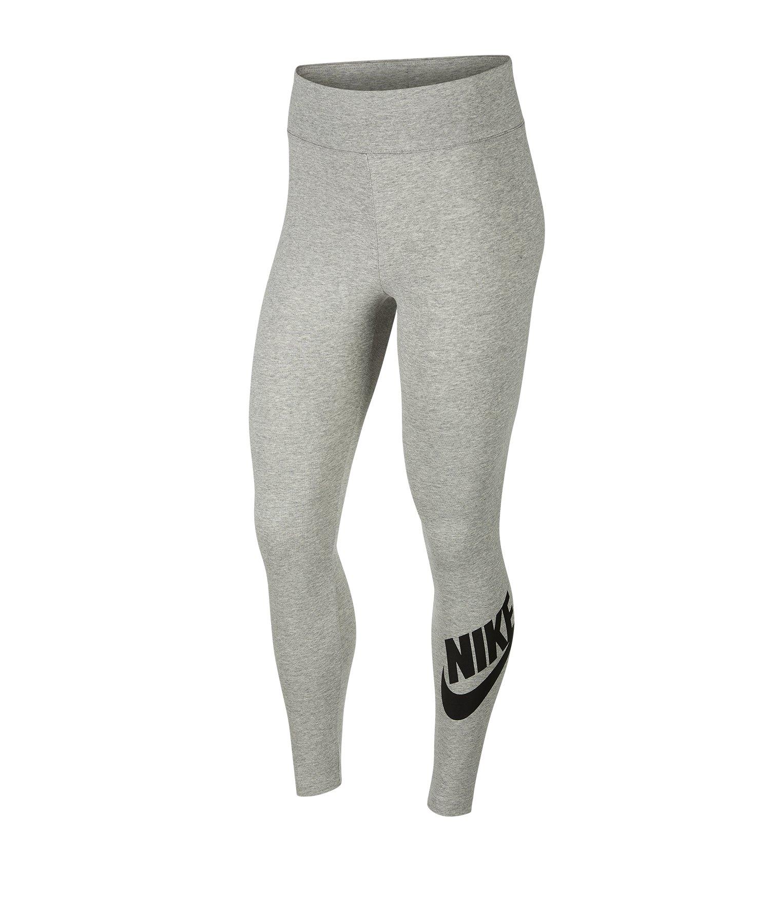 Nike Leg-A-See High Waisted Leggings Grau F063 - grau