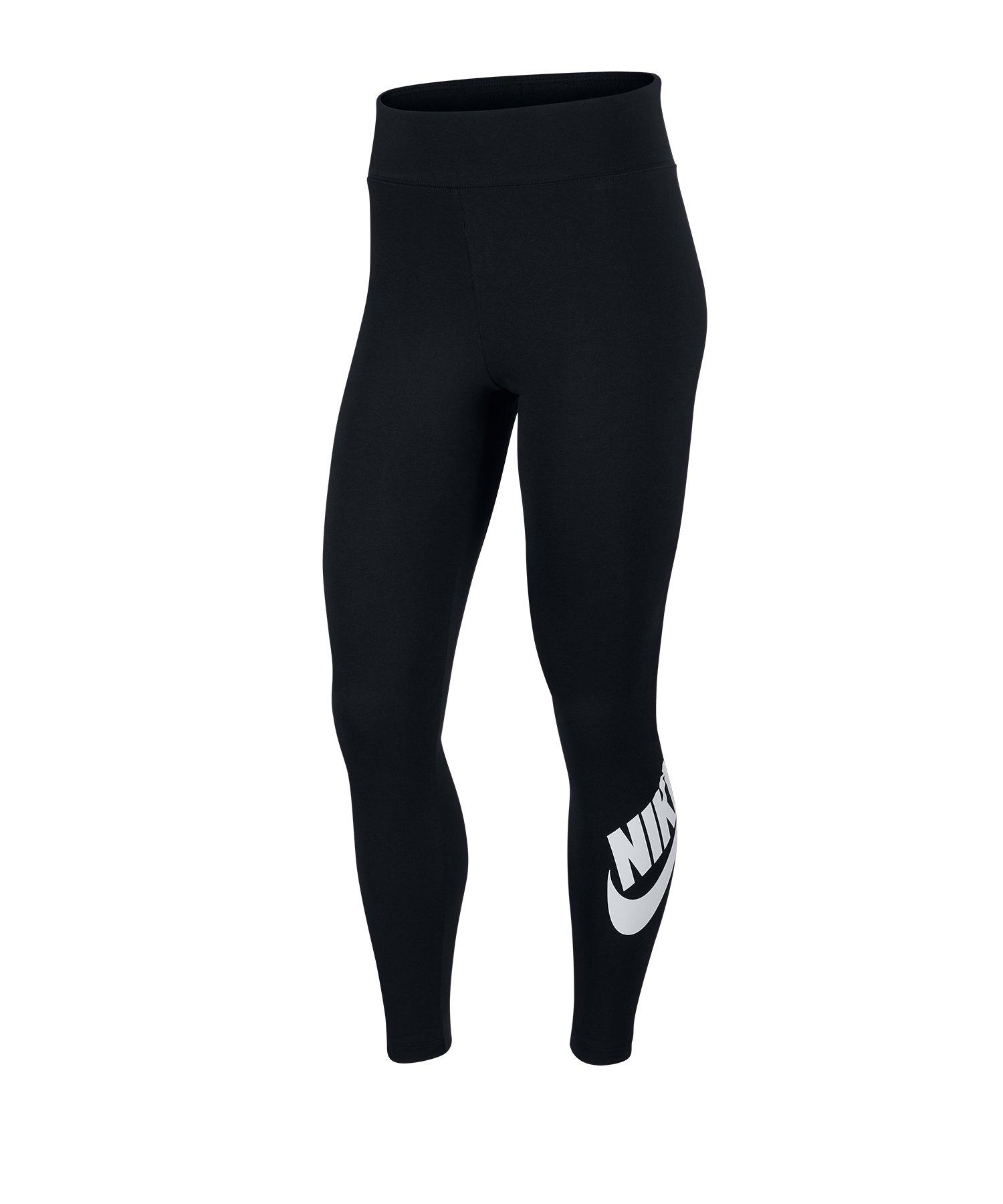 Nike Leg-A-See High Waisted Leggings Schwarz F011 - schwarz