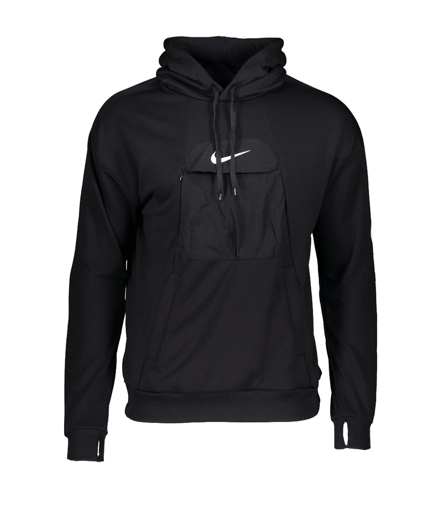 Nike F.C. Kapuzensweatshirt Schwarz F010 - schwarz