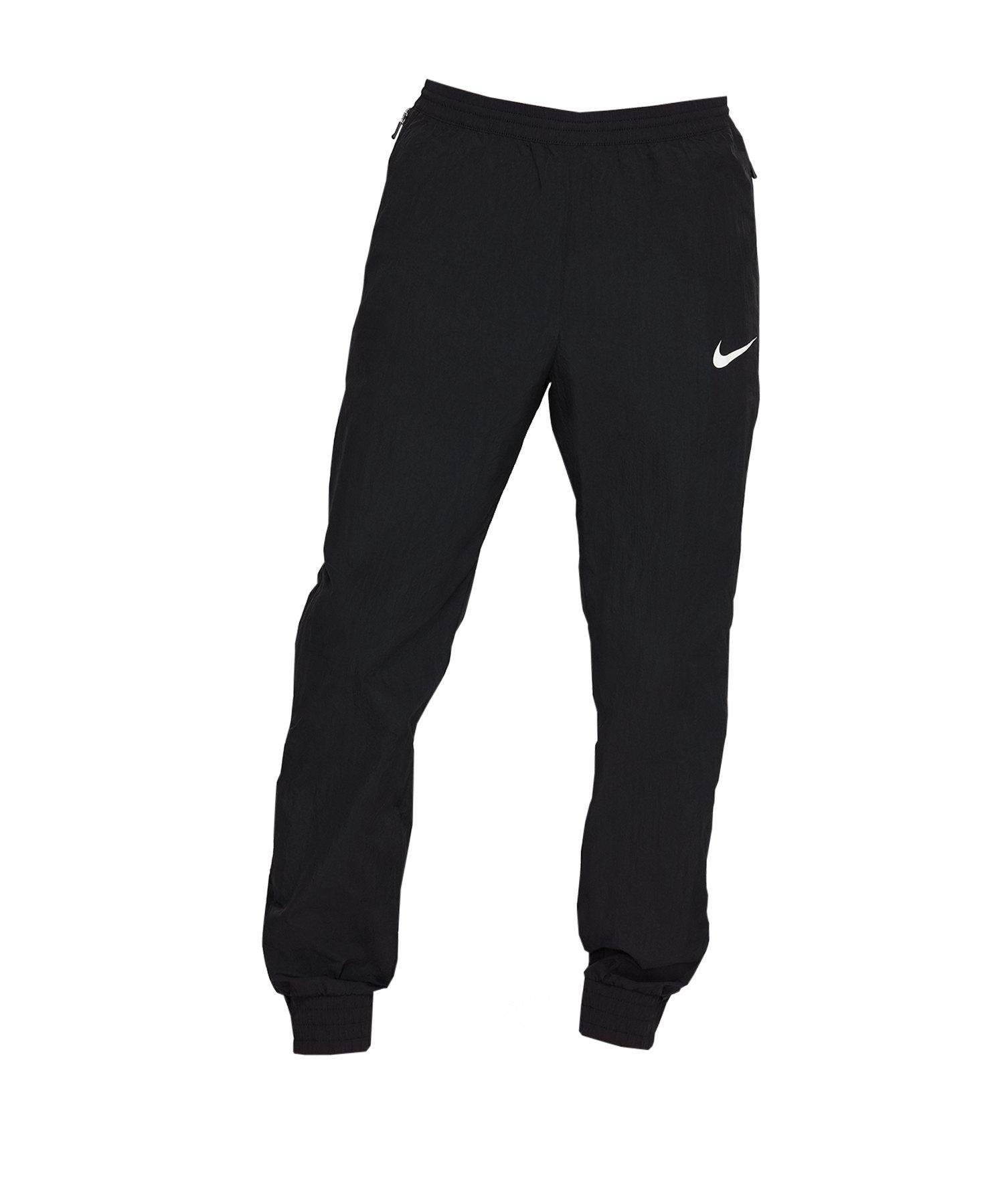 Nike F.C. Pant Woven Hose Schwarz F010 - schwarz