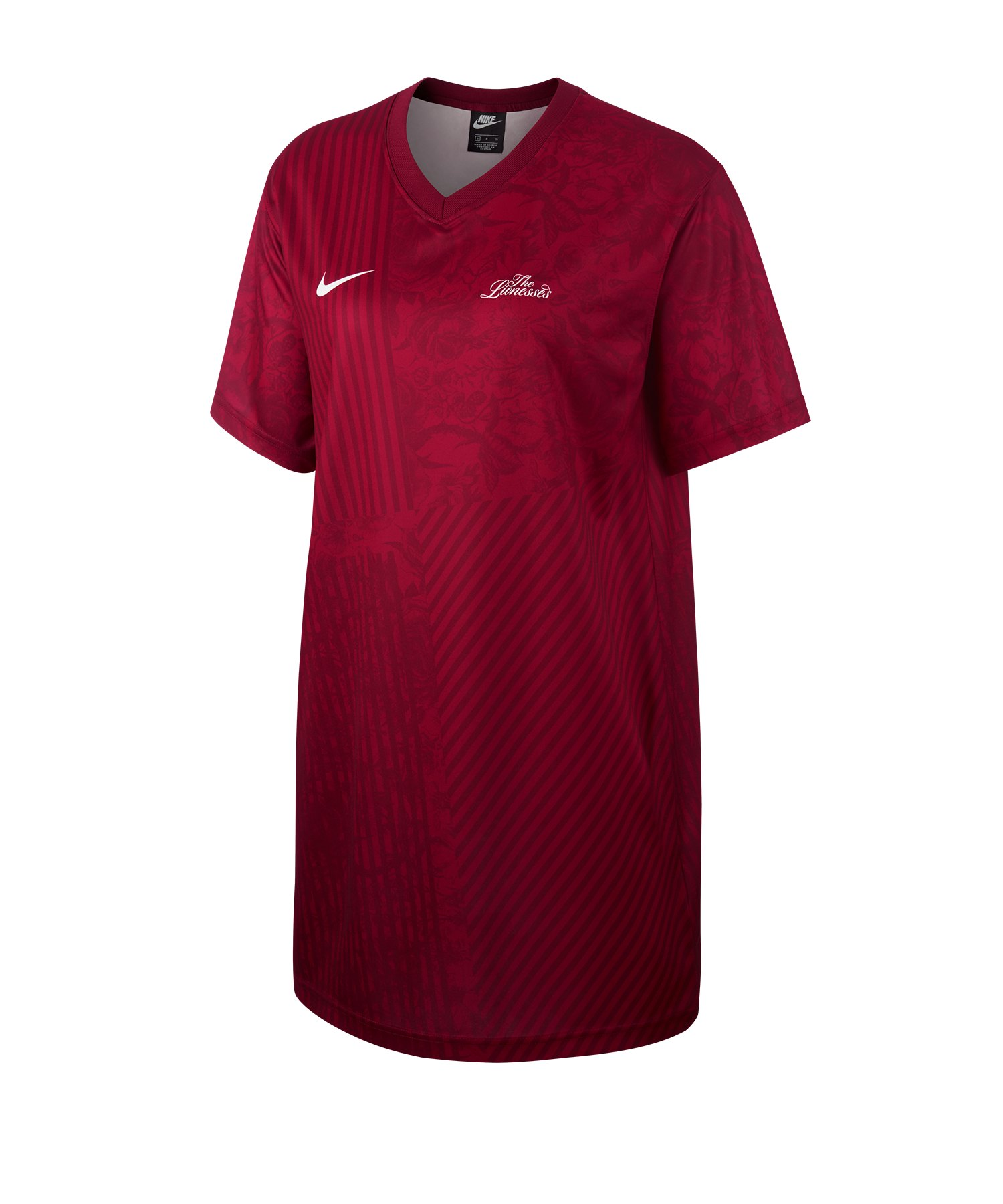 Nike England FTBL Dress Kleid Damen Rot F677 - rot