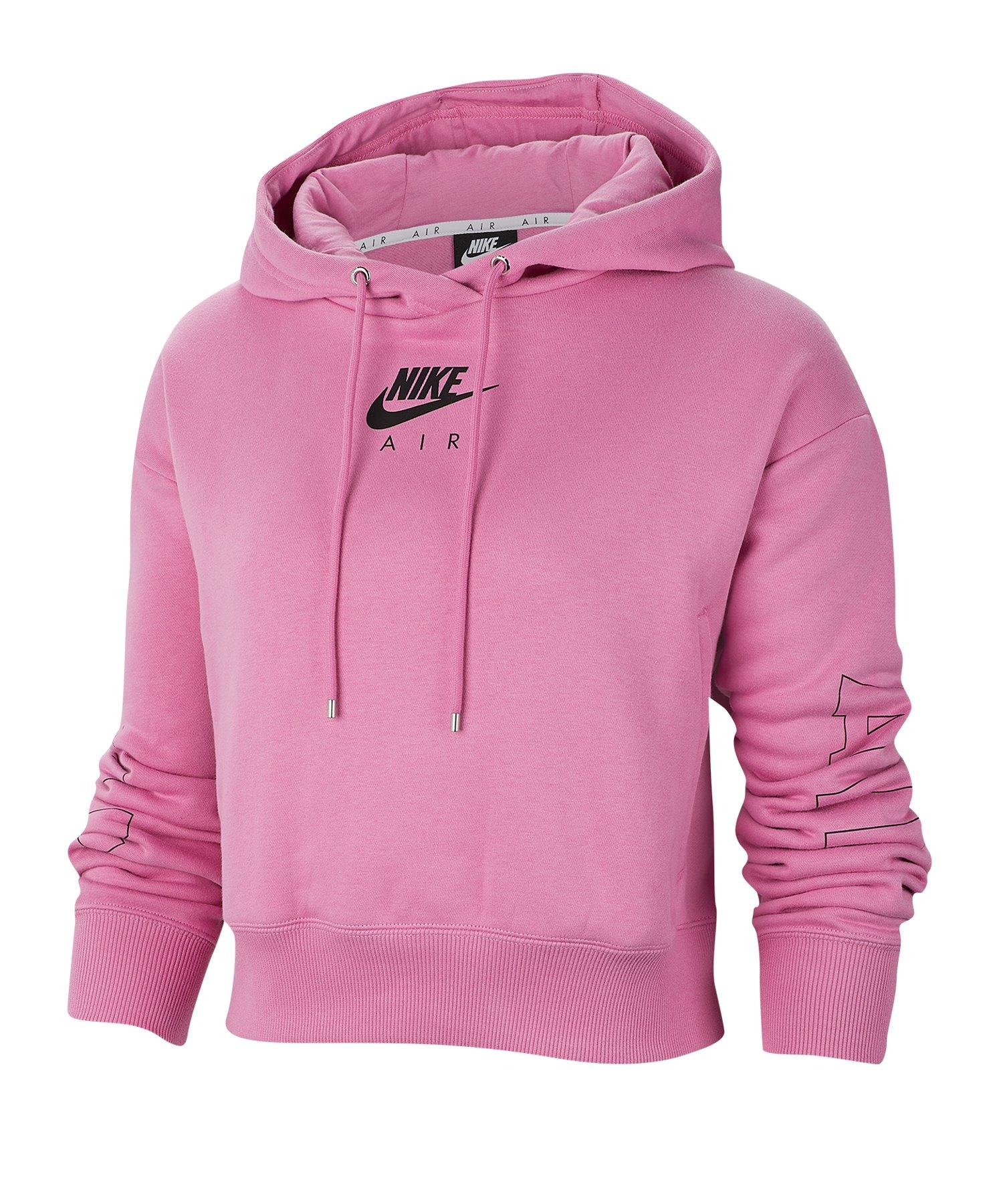 Nike Air Fleece Hoody Kapuzenpullover Damen F693 - rot
