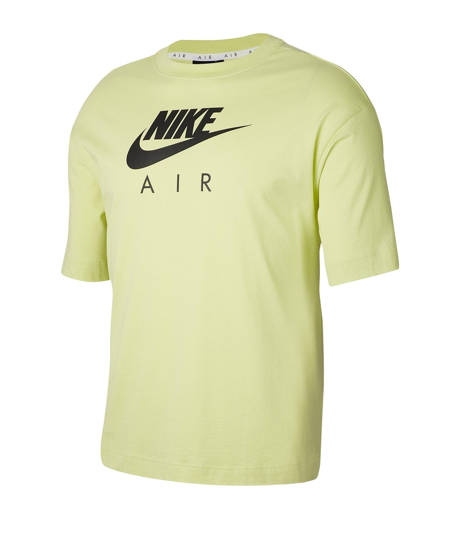 Nike Air T-Shirt Damen Grün F367 - gruen