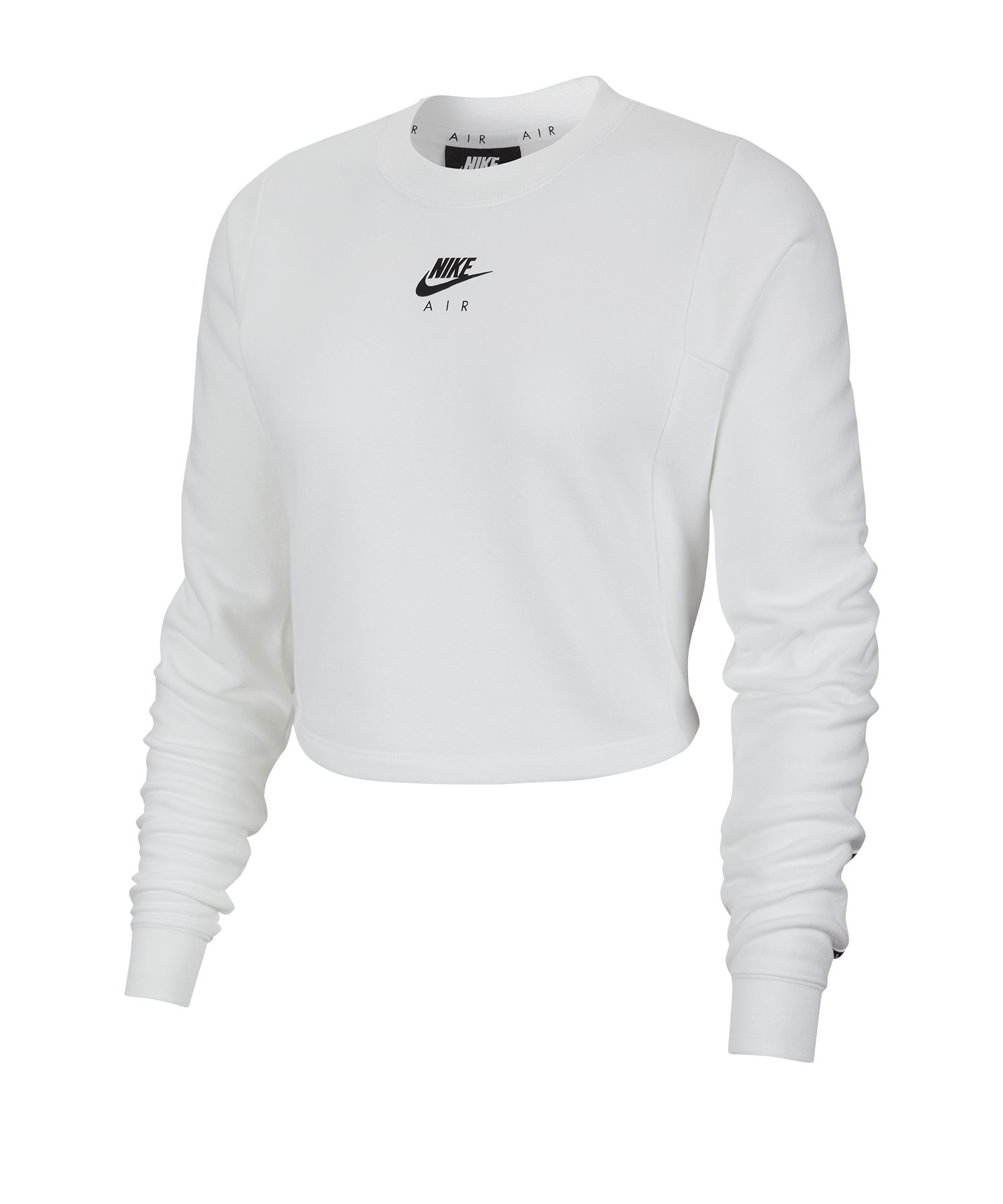 Nike Air Crew Sweatshirt Damen Weiss F100 - weiss
