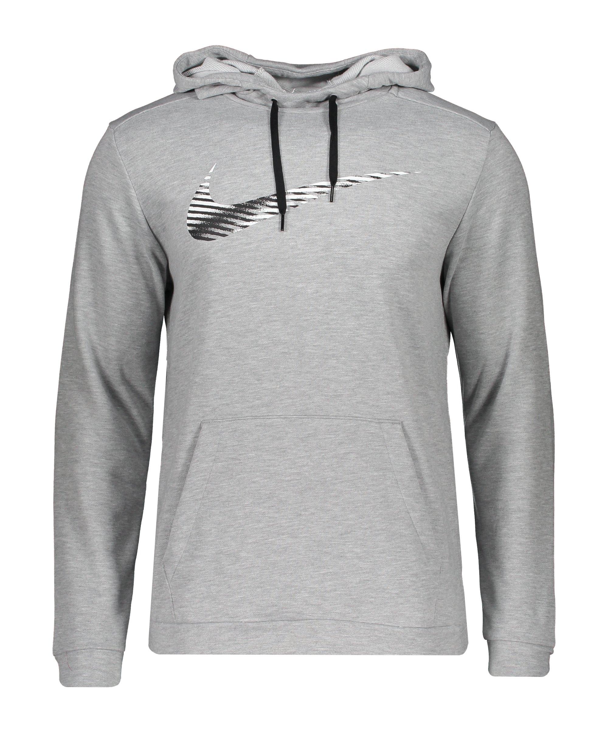 Nike Swoosh Kapuzenpullover Grau F063 - grau