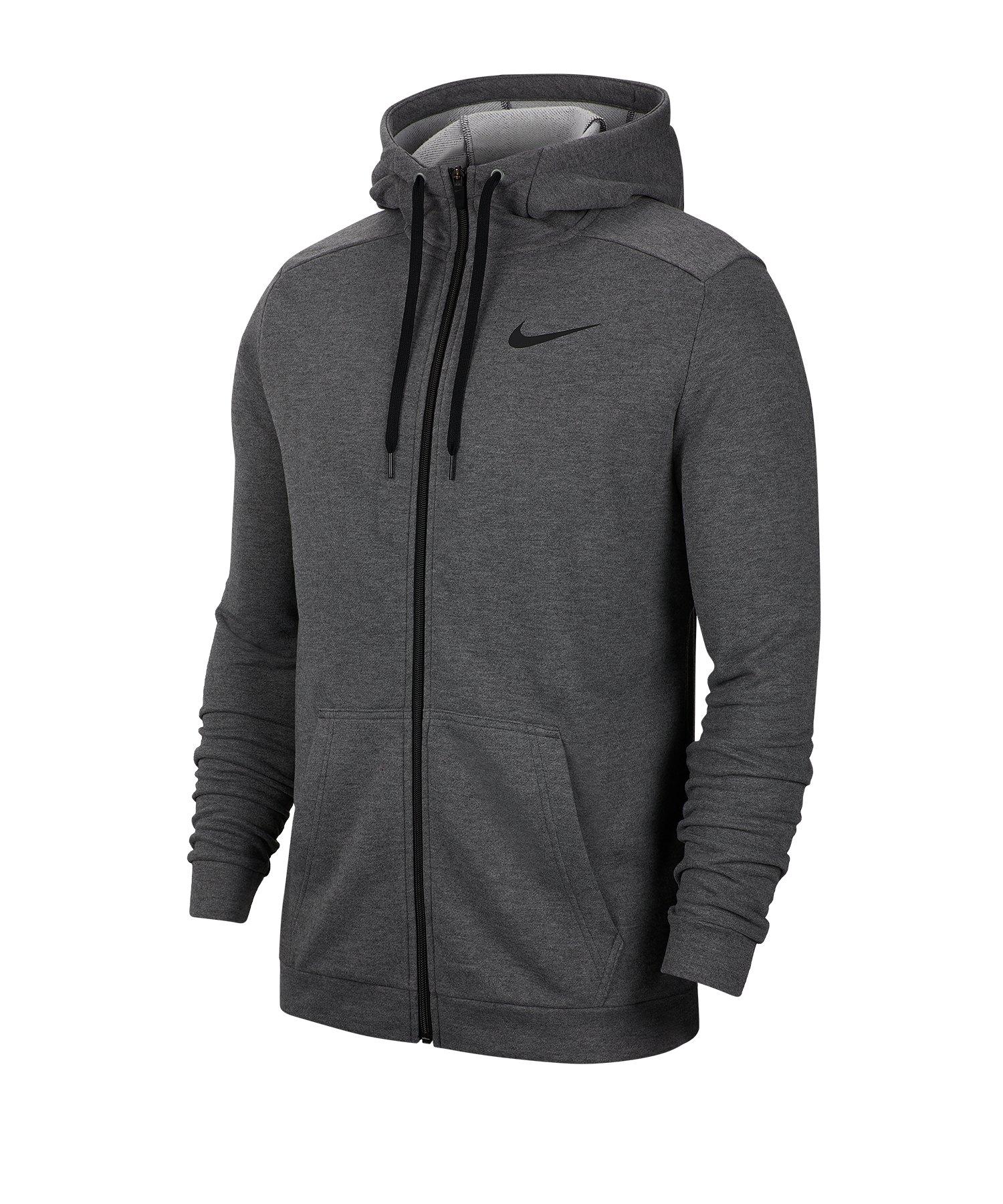 Nike Dri-FIT Kapuzenjacke Grau F071 - grau