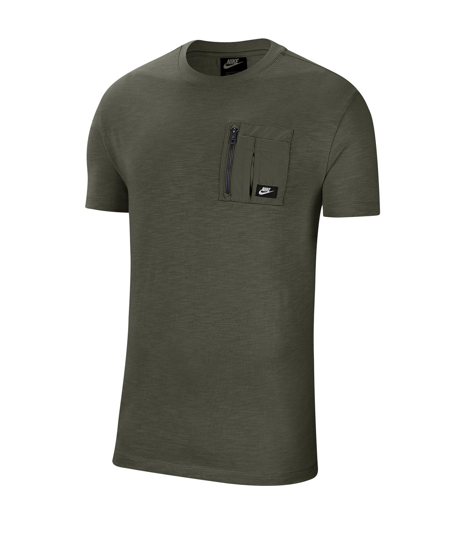 Nike Mix Tee T-Shirt Grün F325 - gruen