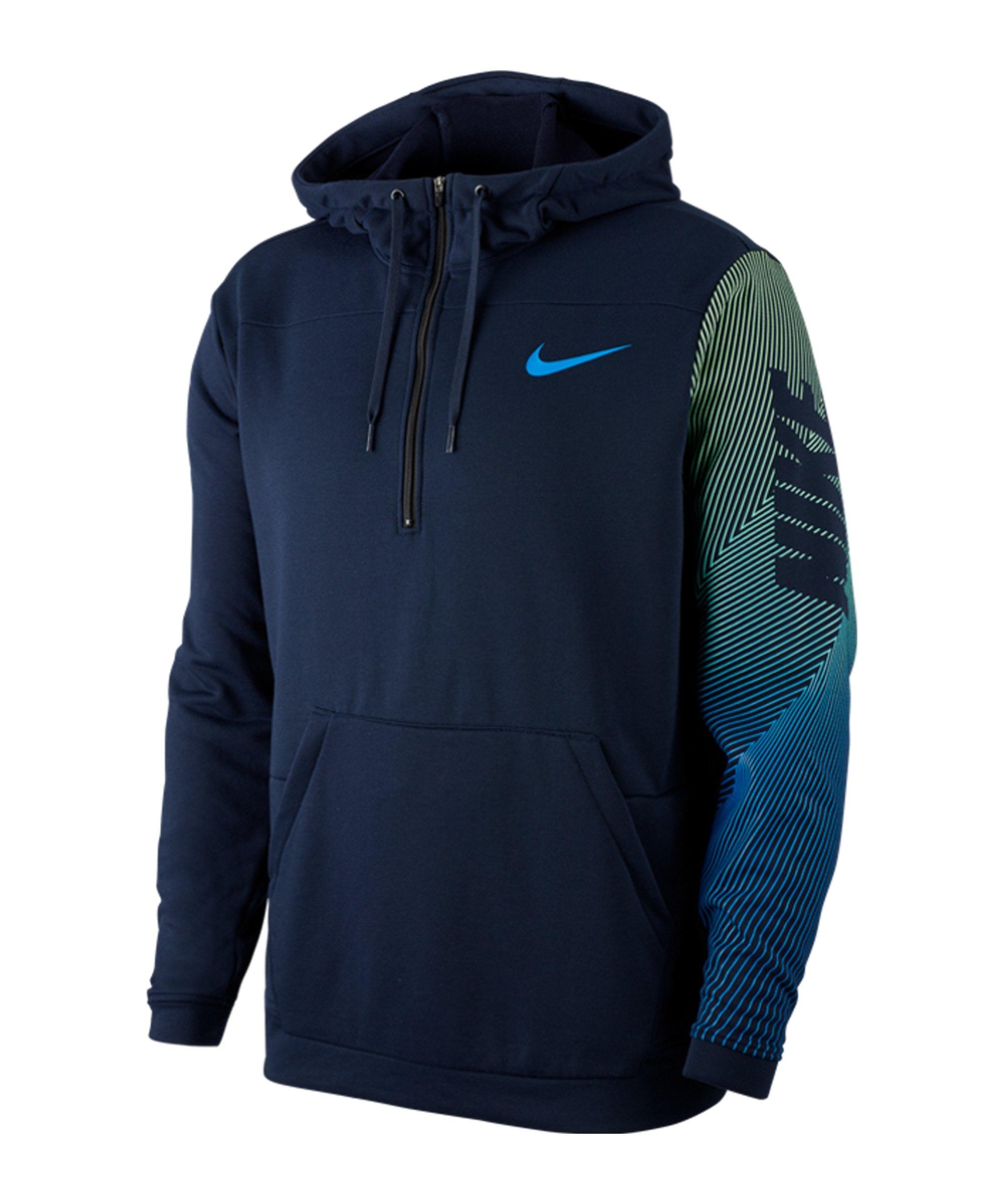 Nike LV 2.0 Kapuzenjacke Grau F451 - blau