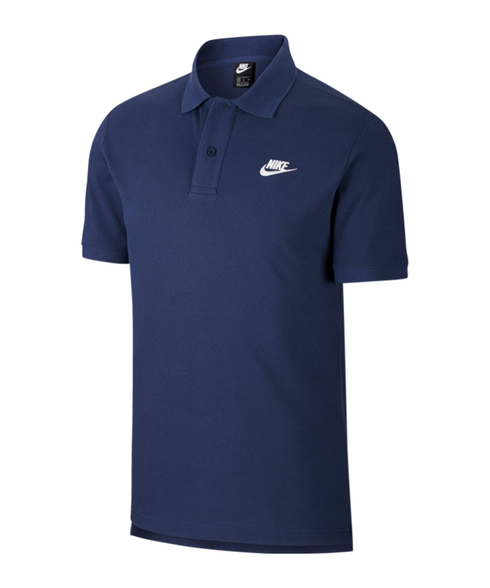 Nike Poloshirt Blau F410 - blau