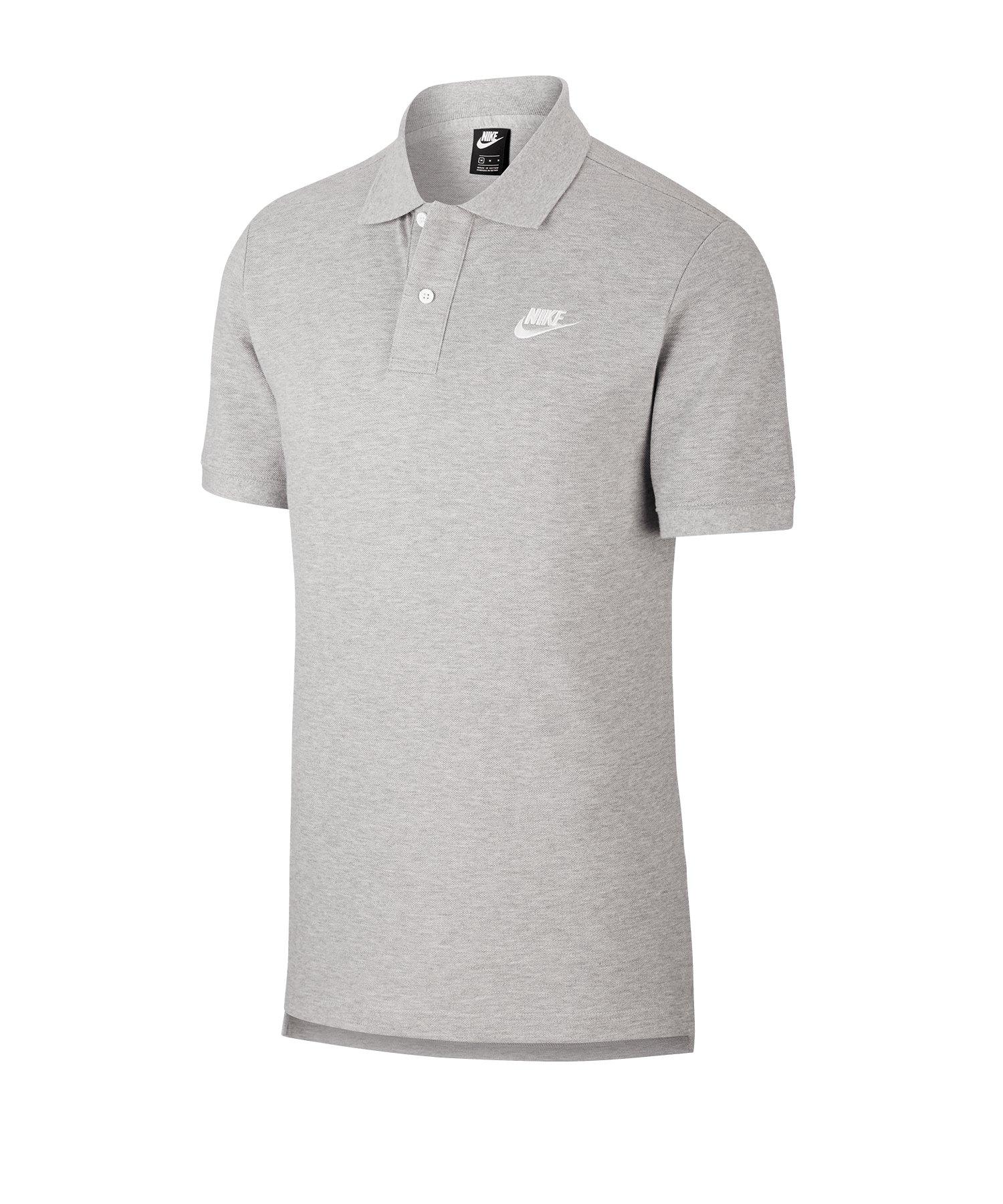 Nike Poloshirt Grau F063 - grau