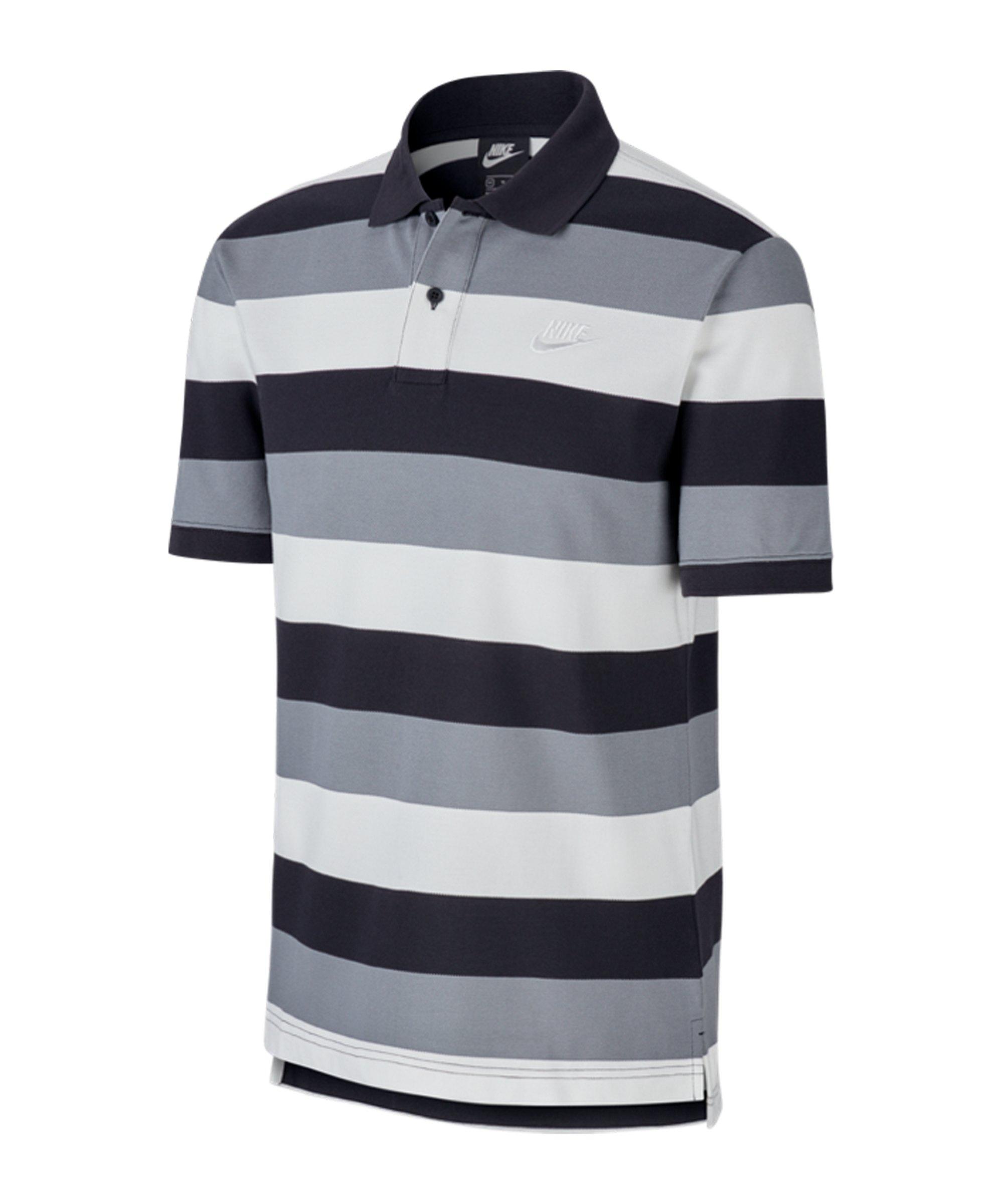 Nike Matchup Stripe Poloshirt Schwarz F010 - schwarz