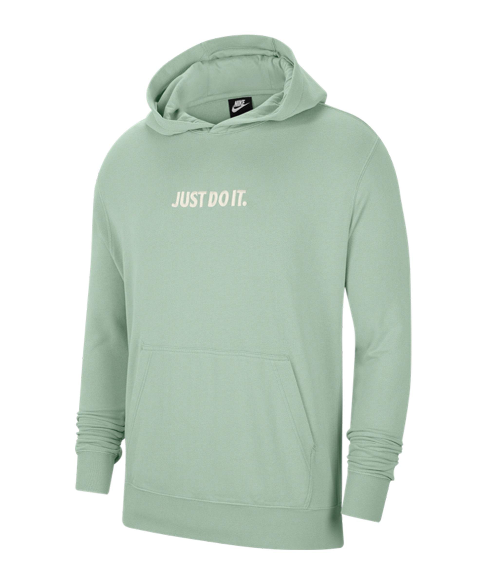 Nike JDI Wash Kapuzensweatshirt Blau F321 - blau