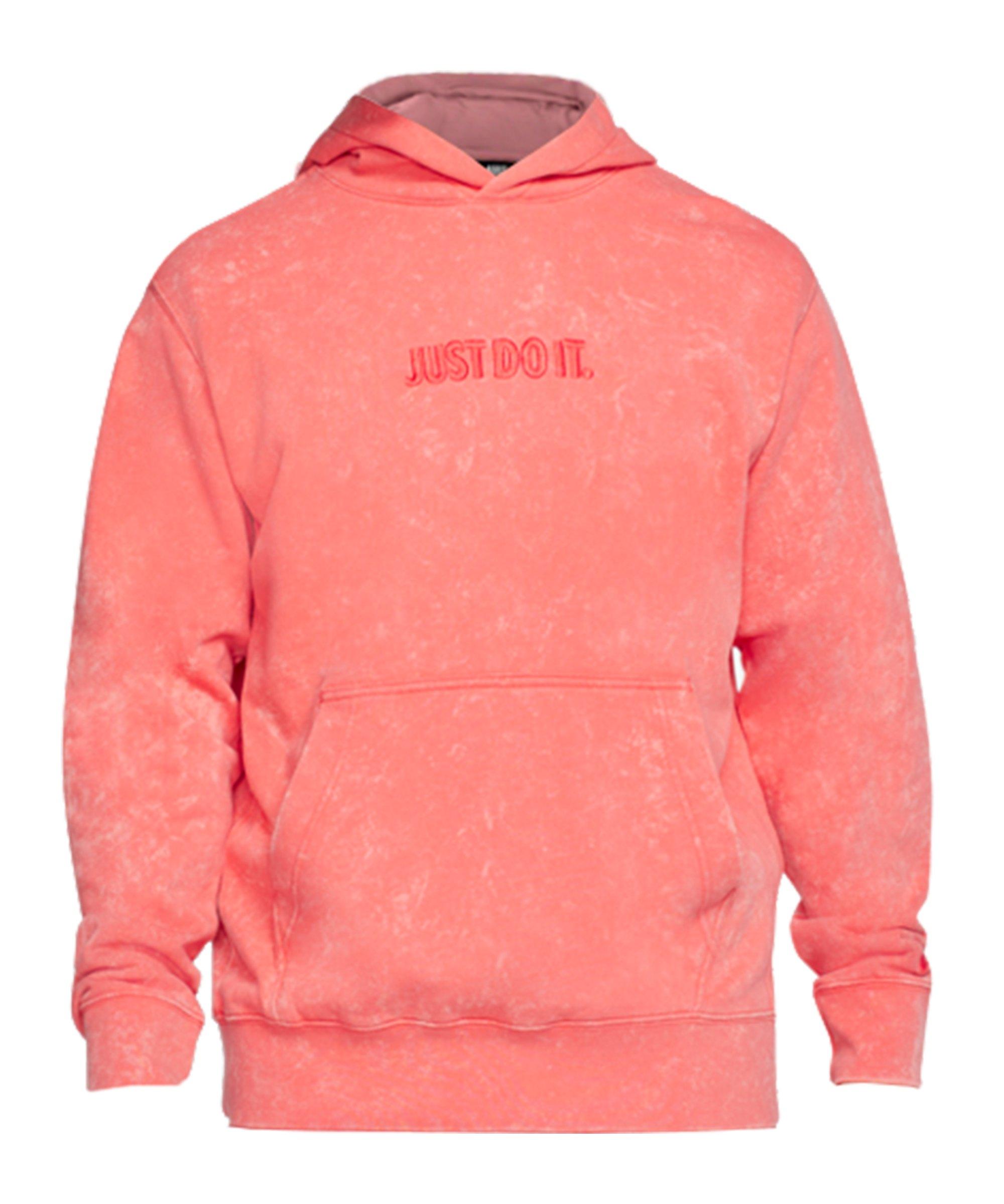 Nike JDI Wash Kapuzensweatshirt Orange F814 - orange