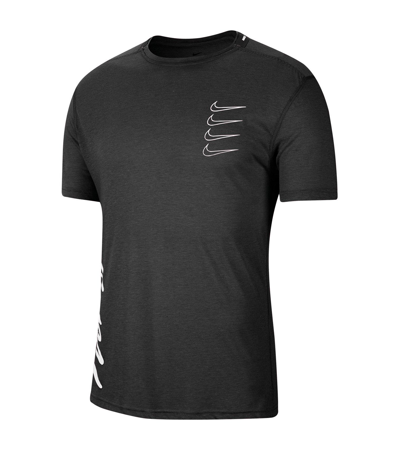 Nike Training T-Shirt Schwarz F010 - schwarz