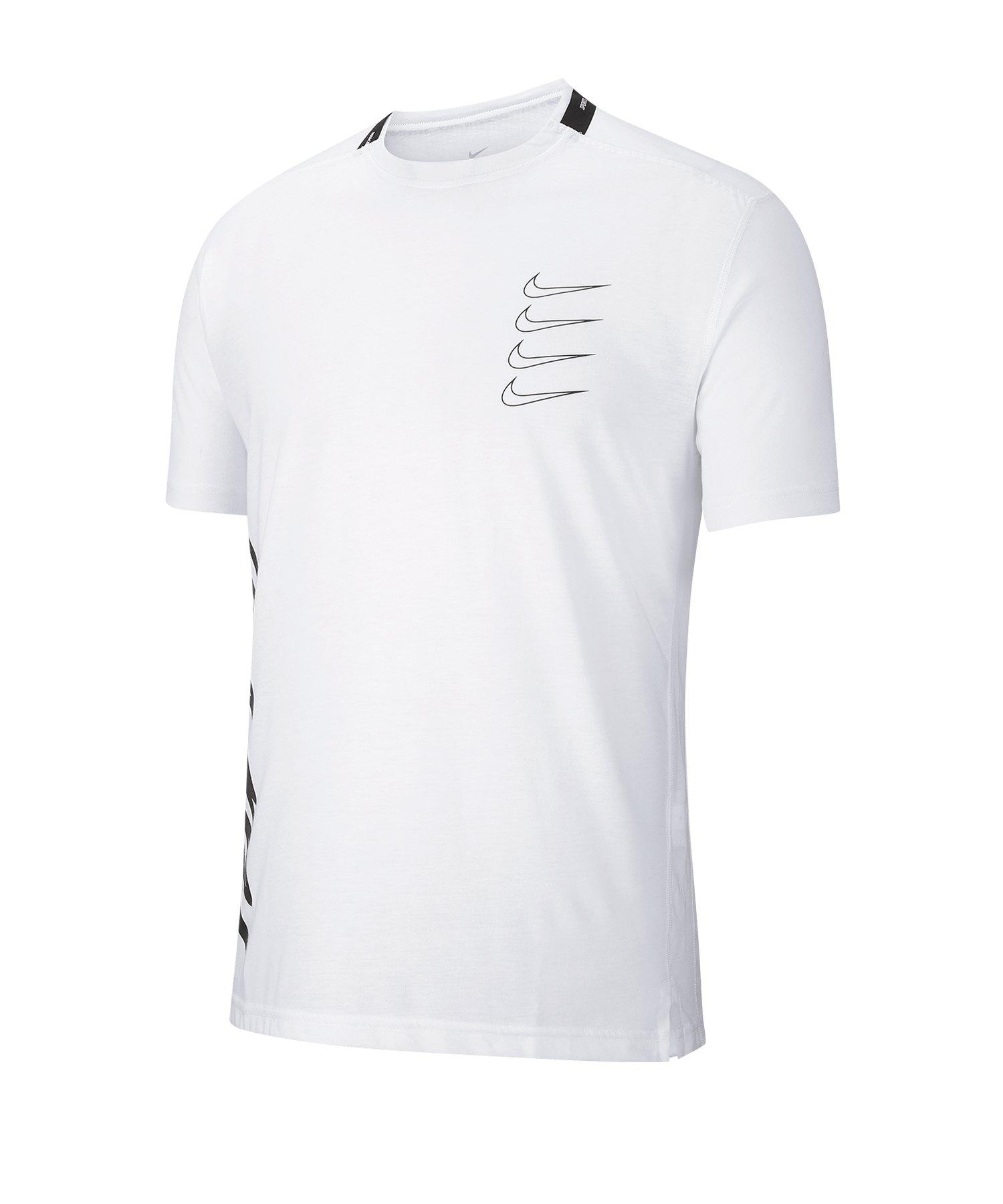 Nike Training T-Shirt Weiss F100 - weiss