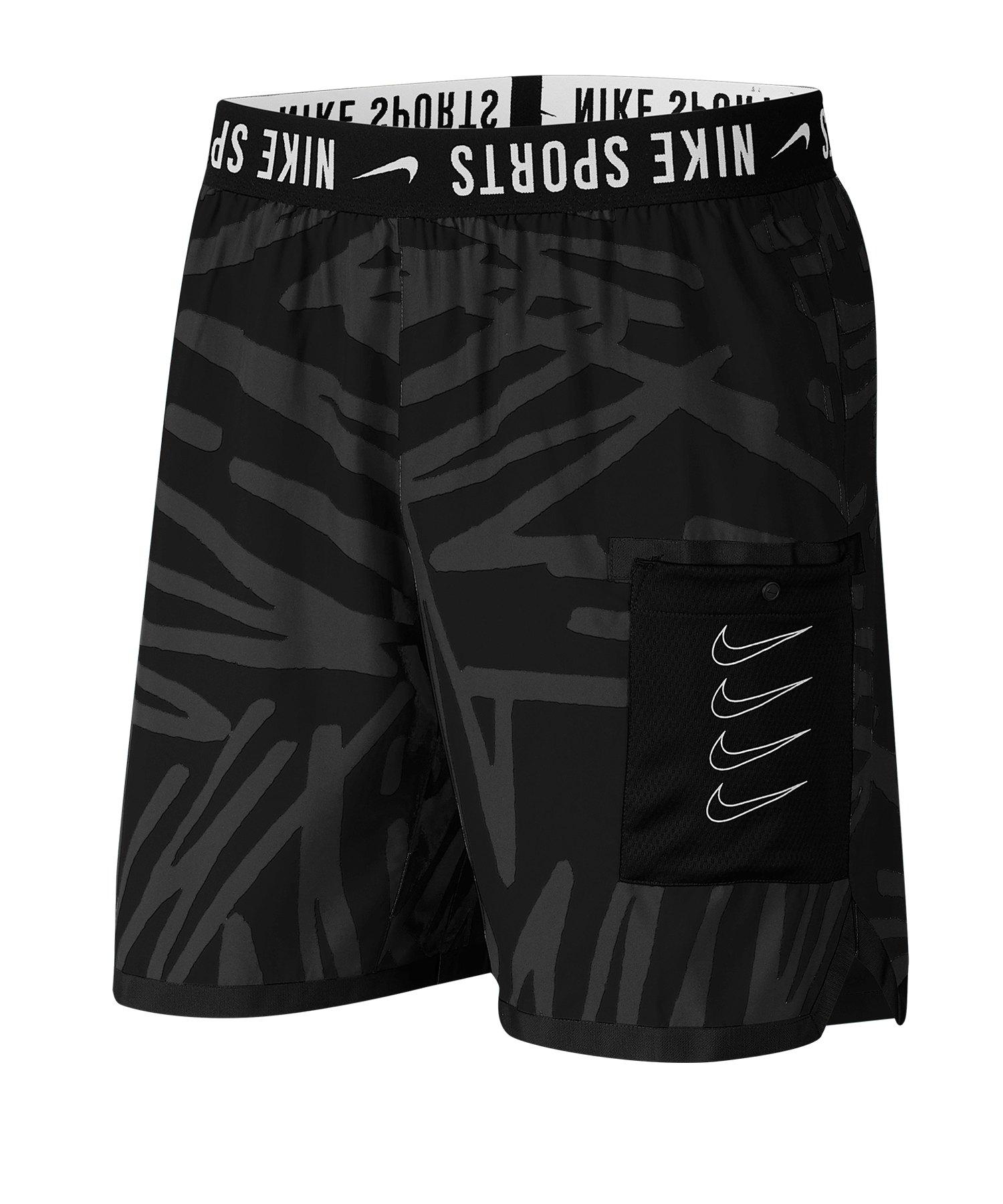 Nike Training Short Schwarz F010 - schwarz
