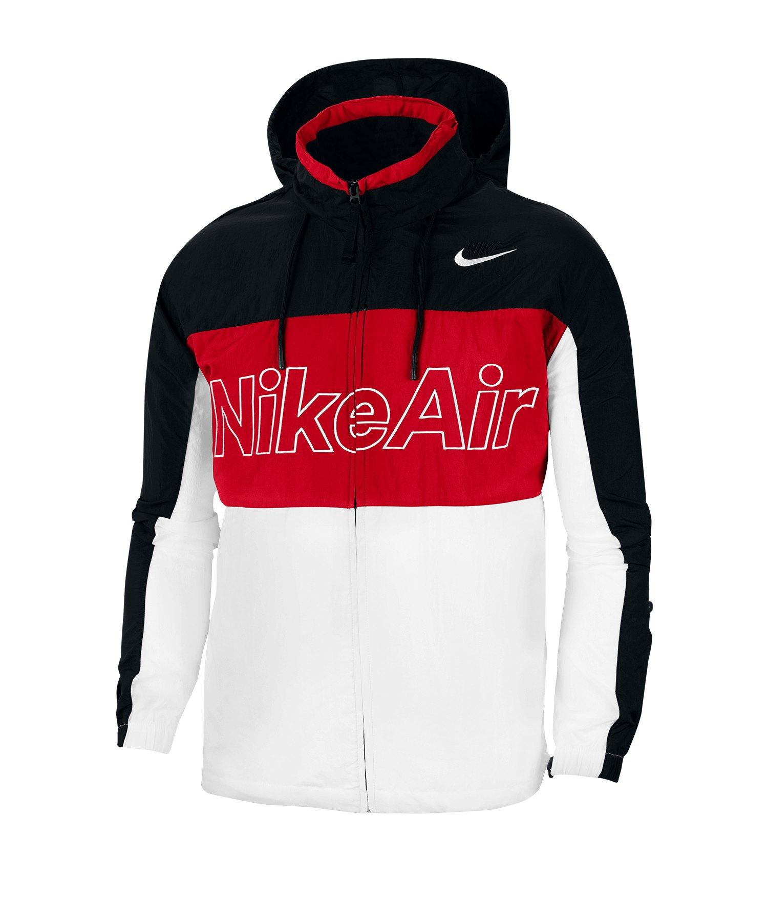 Nike Air Woven Jacket Jacke Schwarz F011 - schwarz