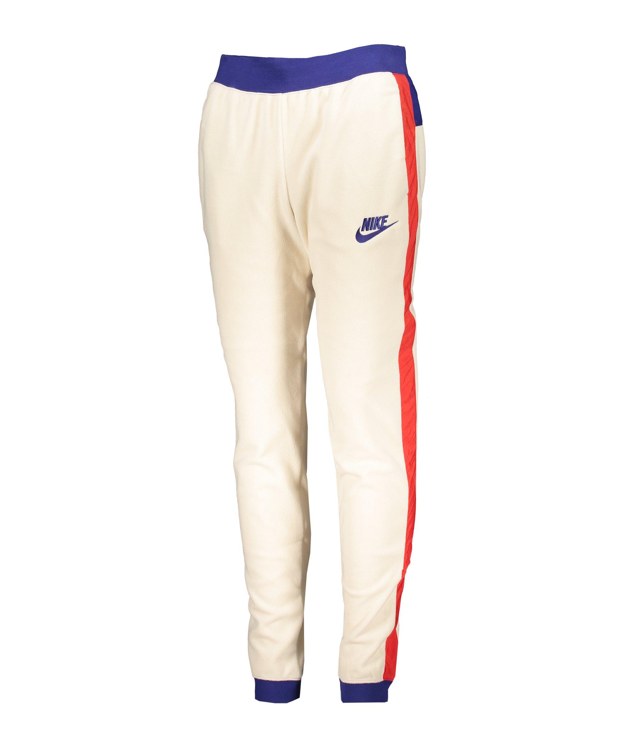 Nike Polar Jogginghose Damen Beige Rot F271 - beige