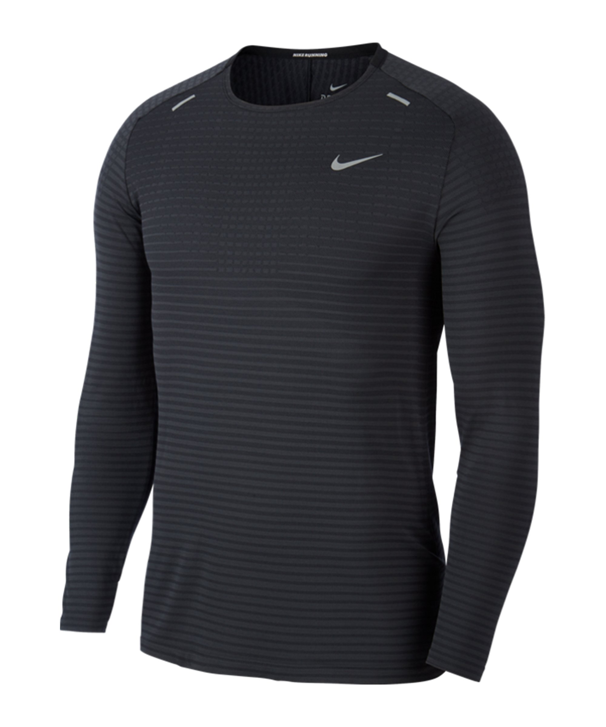 Nike Tech Knit Ultra Sweatshirt Running Grau F010 - grau