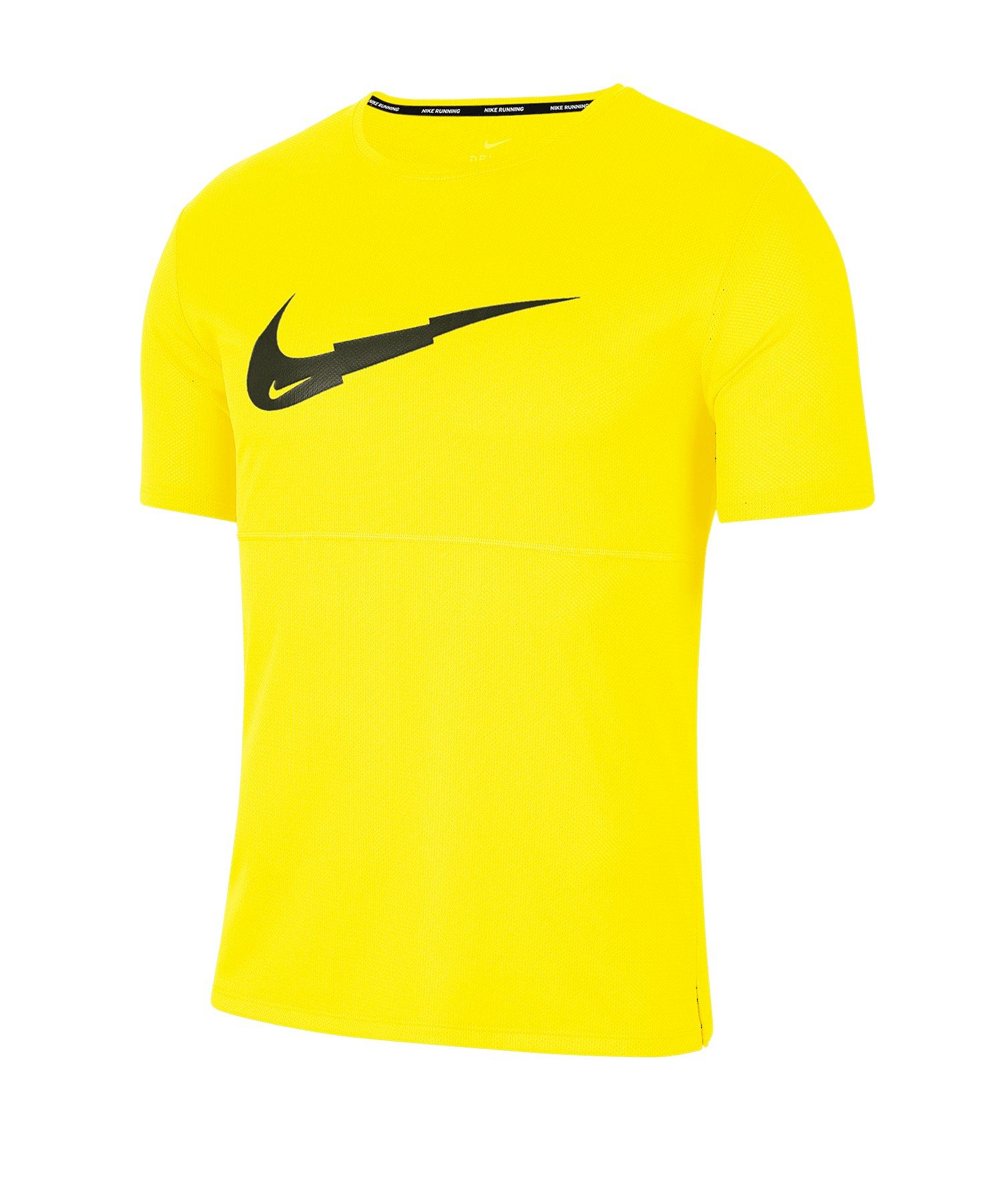 Nike Breathe T-Shirt Running Gelb F731 - gelb