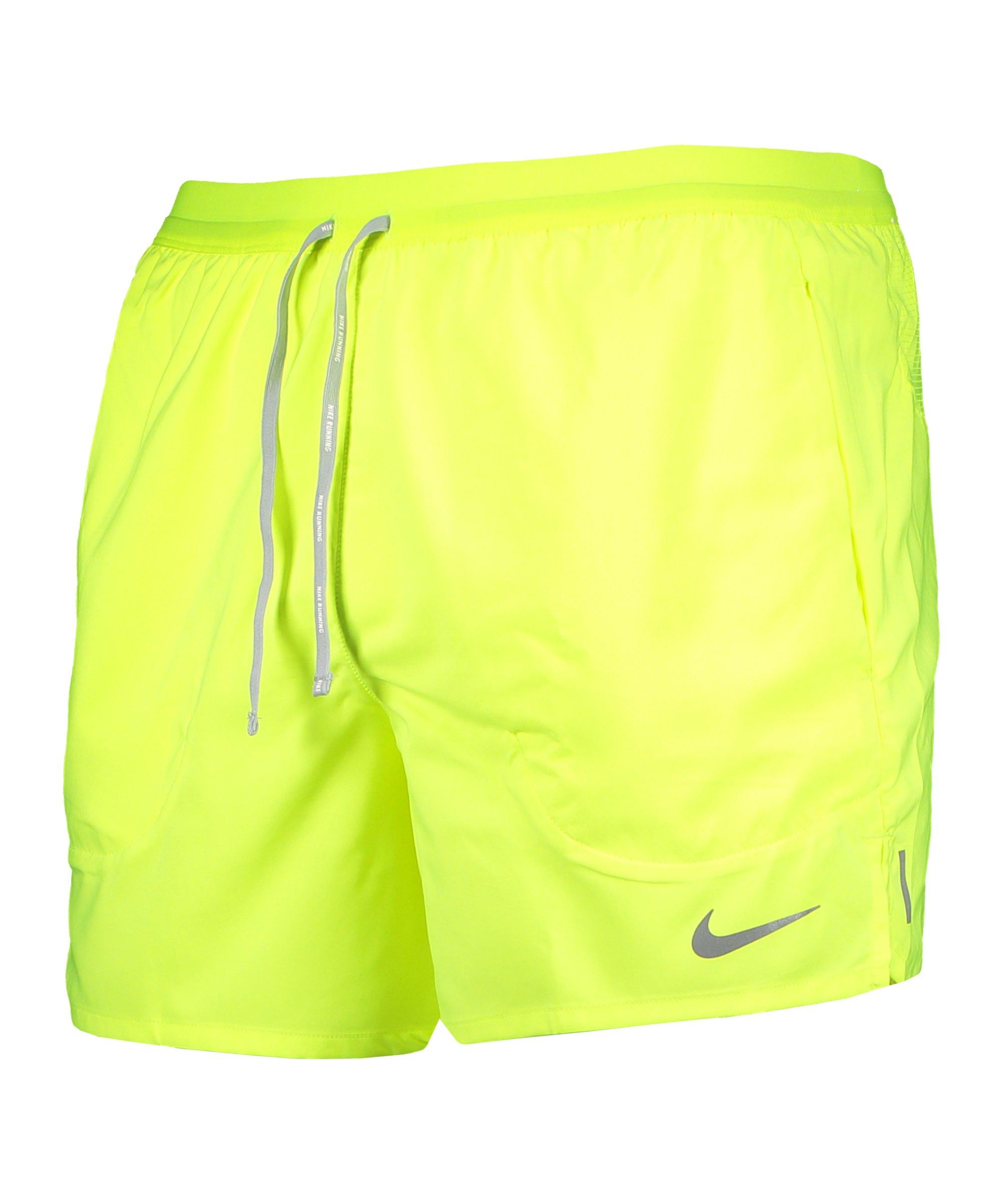 Nike Flex Stride 5in Short Running Gelb F702 - gelb