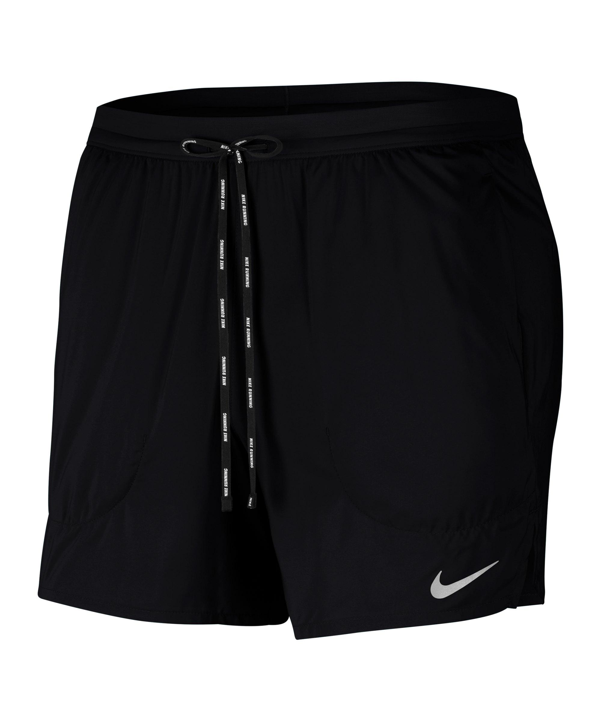 Nike Flex Stride 5in Shorts Running Schwarz F010 - schwarz
