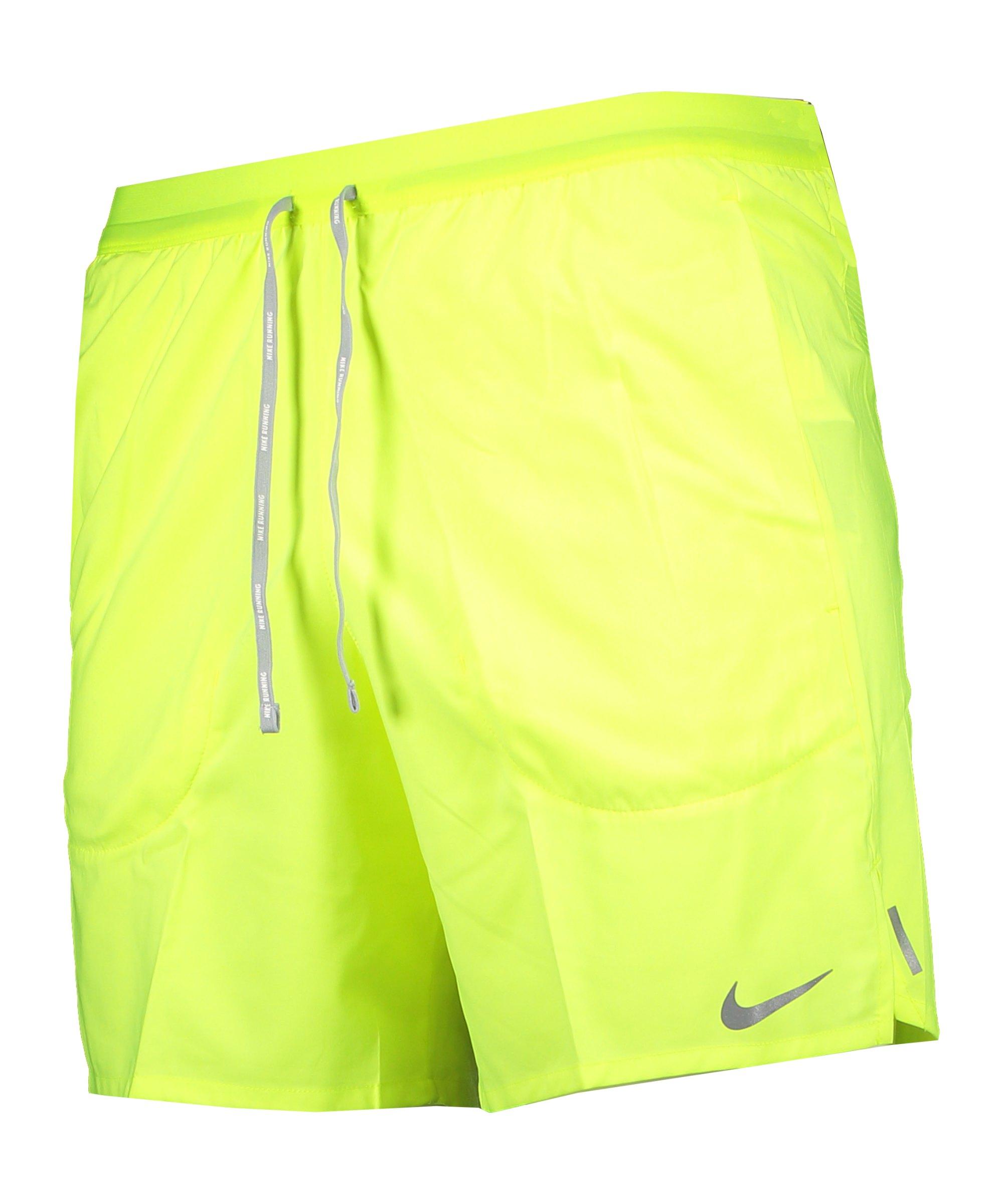 Nike Flex Stride 7in Short Running Gelb F702 - gelb