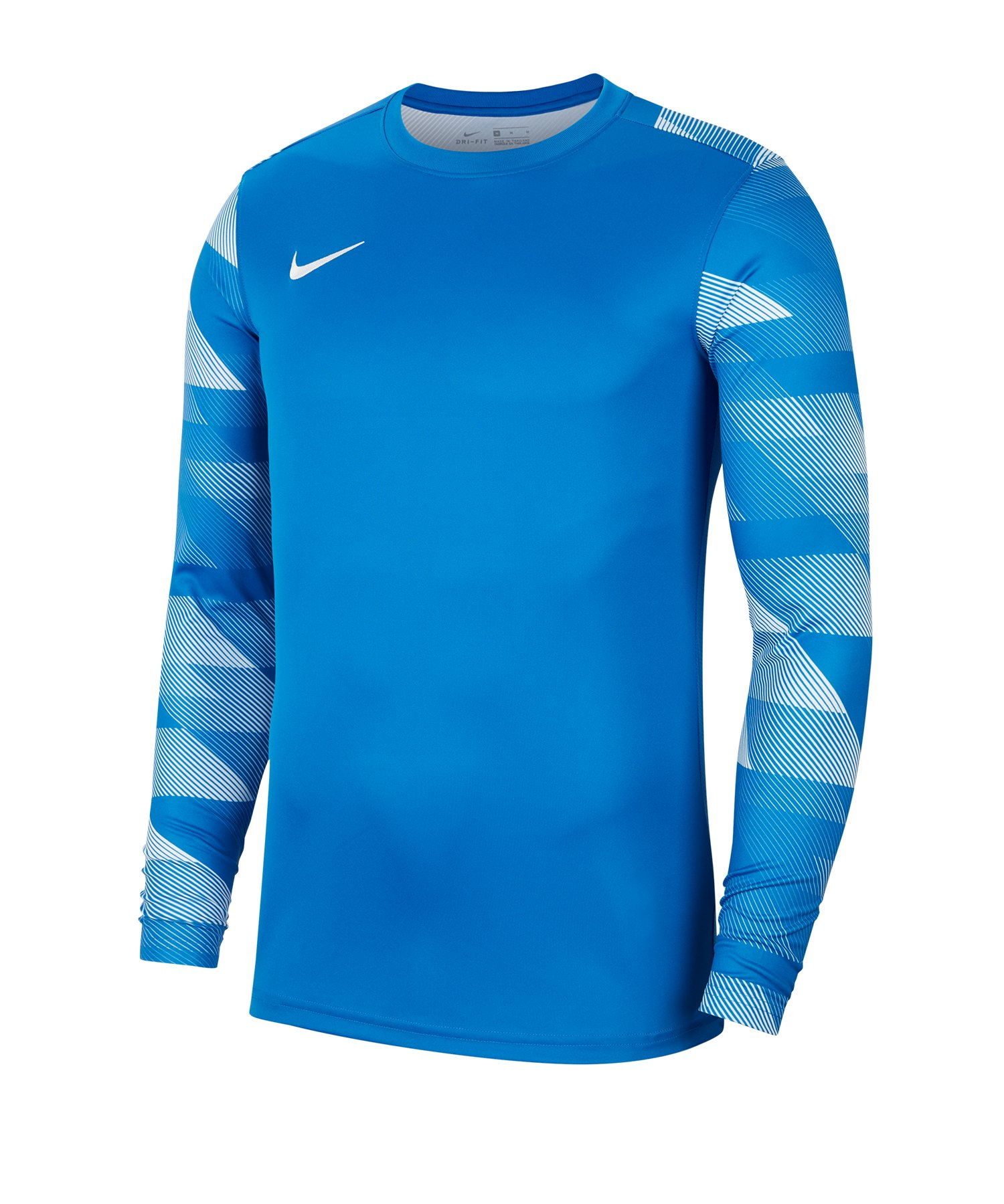 Nike Park IV TW-Trikot langarm Blau F463 - blau